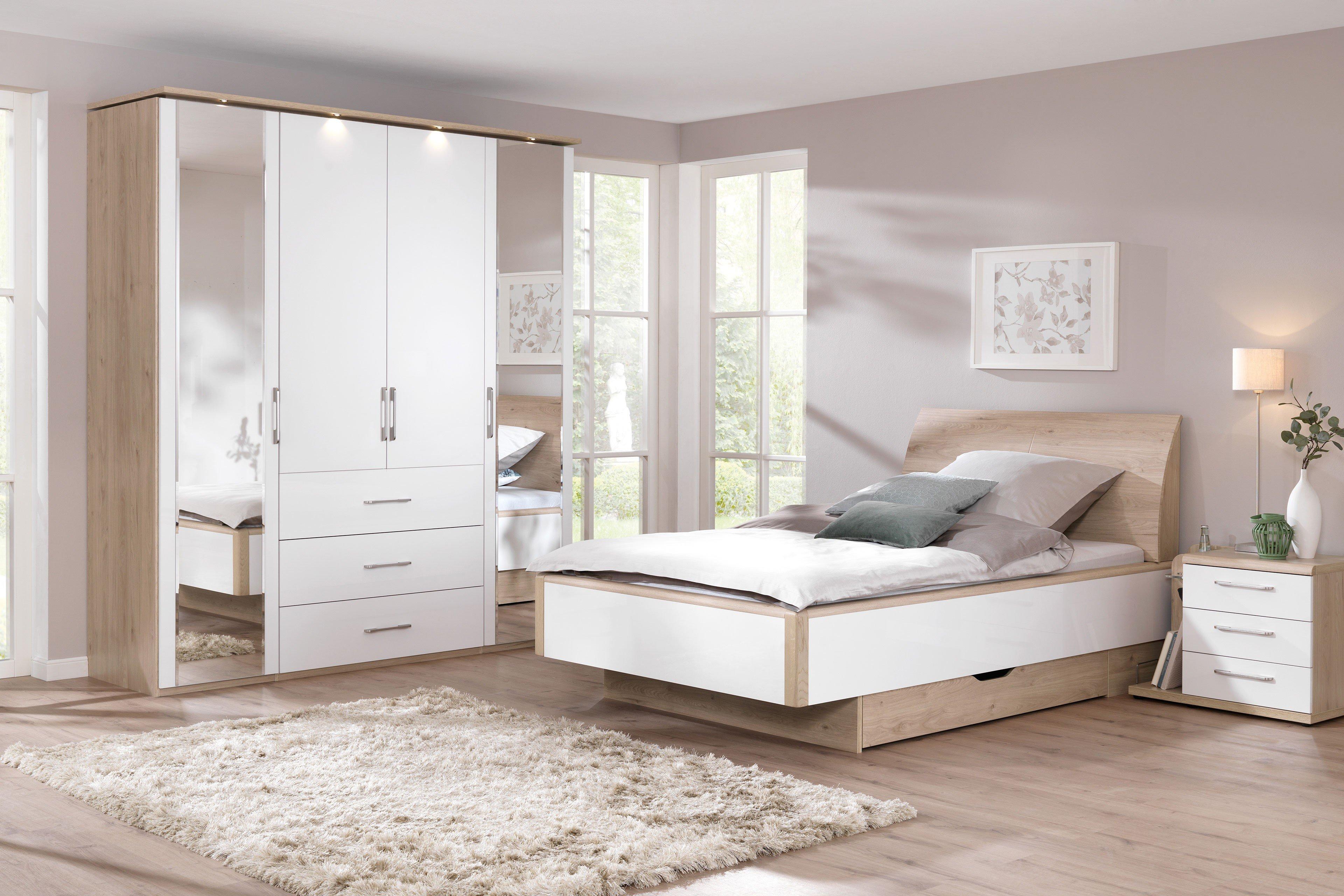 Welle 3-teiliges Komfort-Schlafzimmer Ageless Living | Möbel Letz ...