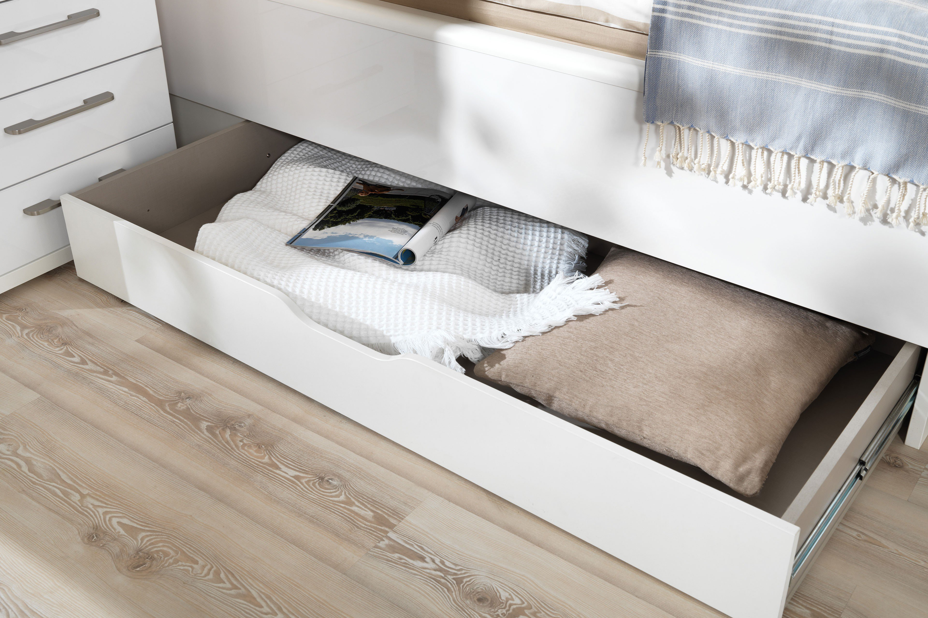 Wellemobel Komfort Bett Hochglanz Weiss Mobel Letz Ihr Online Shop