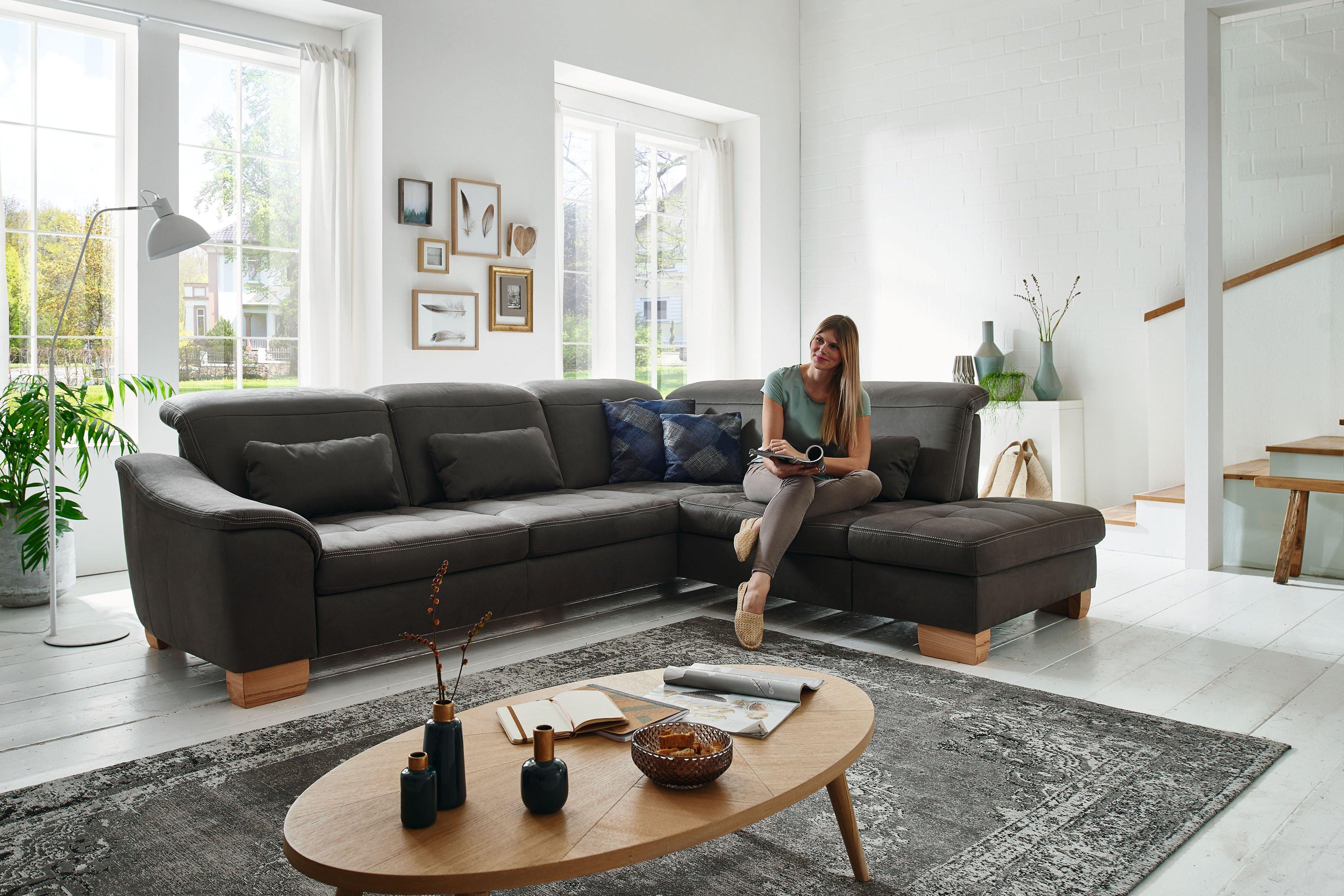 polipol infinity ecksofa in grau m bel letz ihr online shop. Black Bedroom Furniture Sets. Home Design Ideas