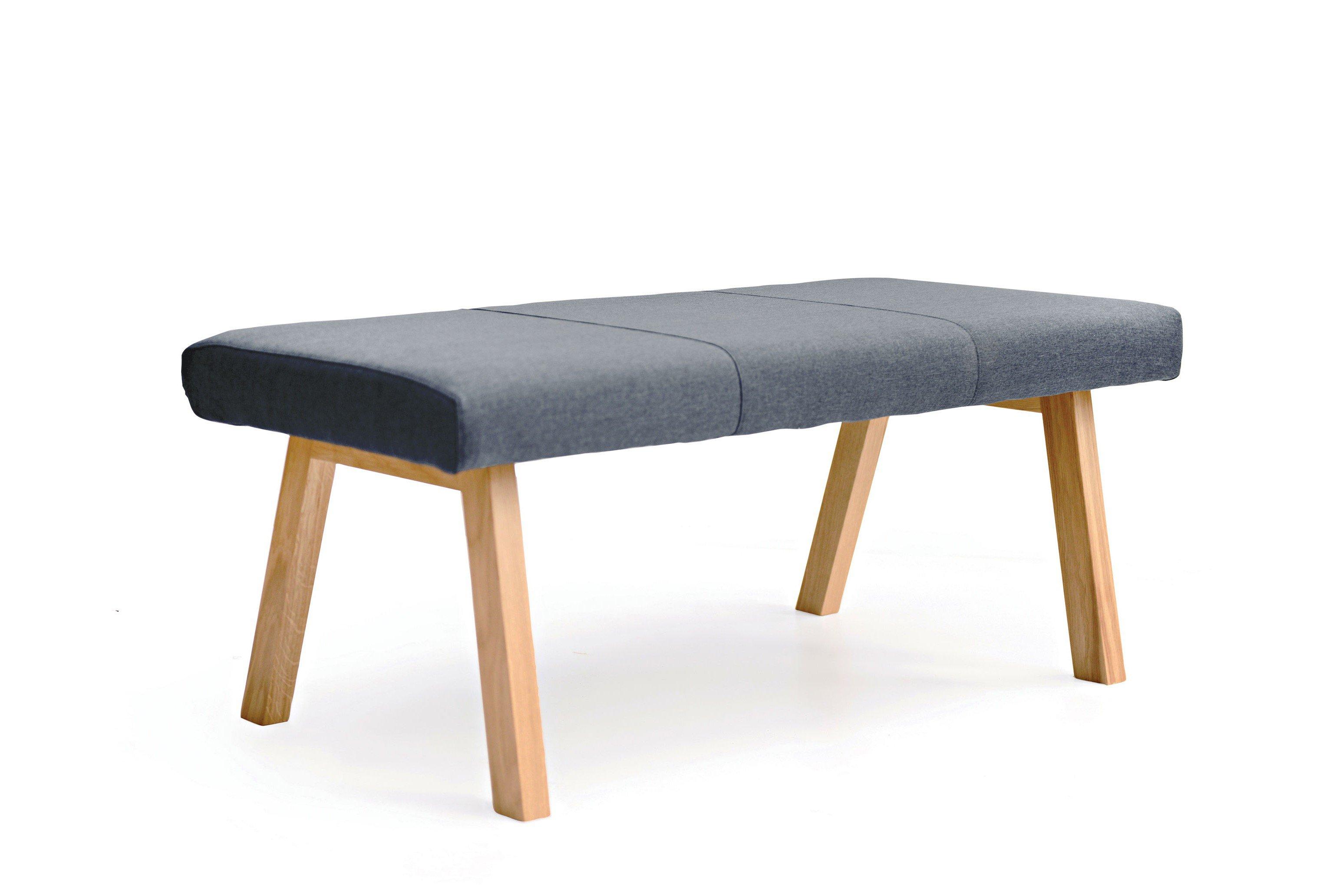 Standard Furniture Bank Konstanz Grau Mit Holzgestell Möbel Letz