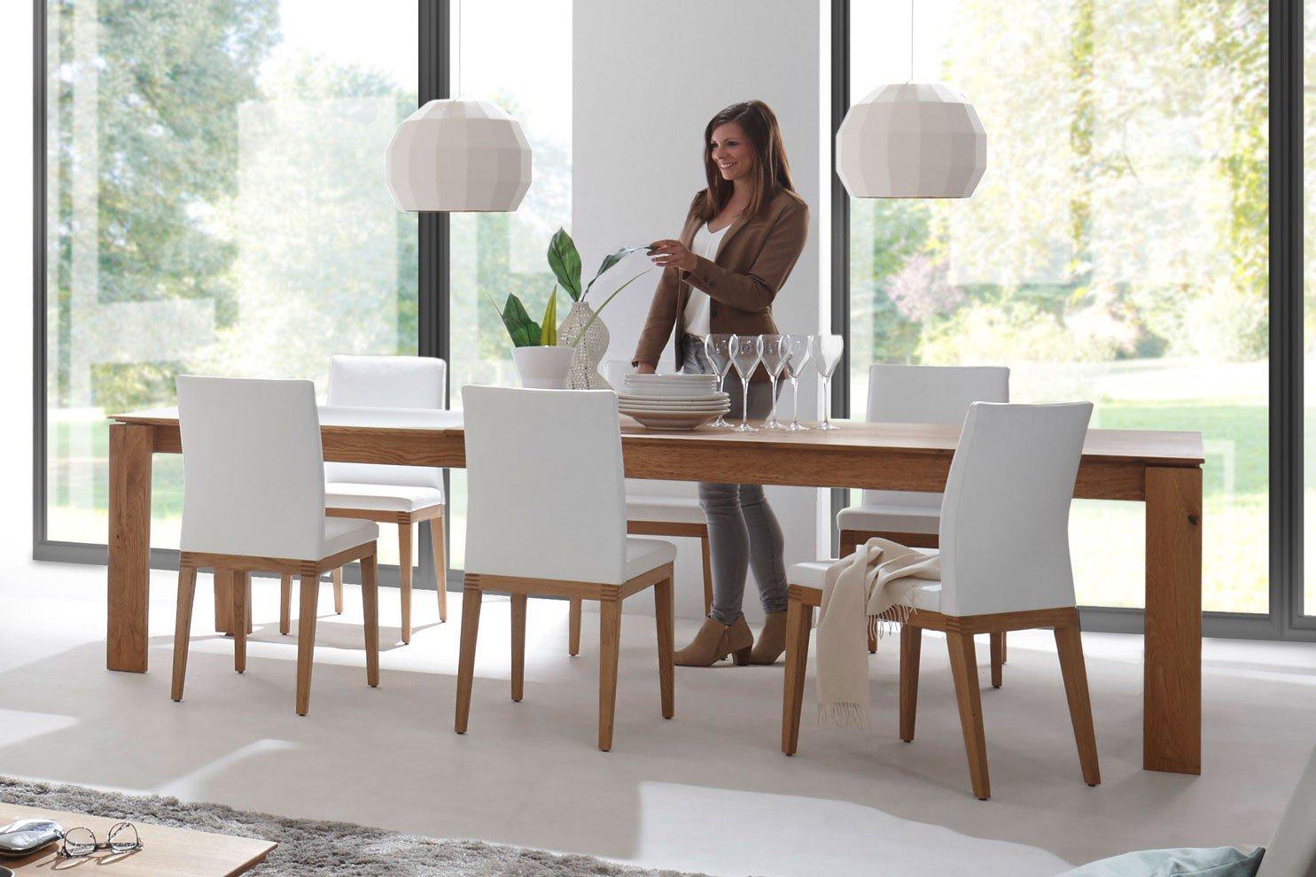 Decker Essgruppe Alivio Mit Ausziehtisch 4 Stühlen Möbel Letz