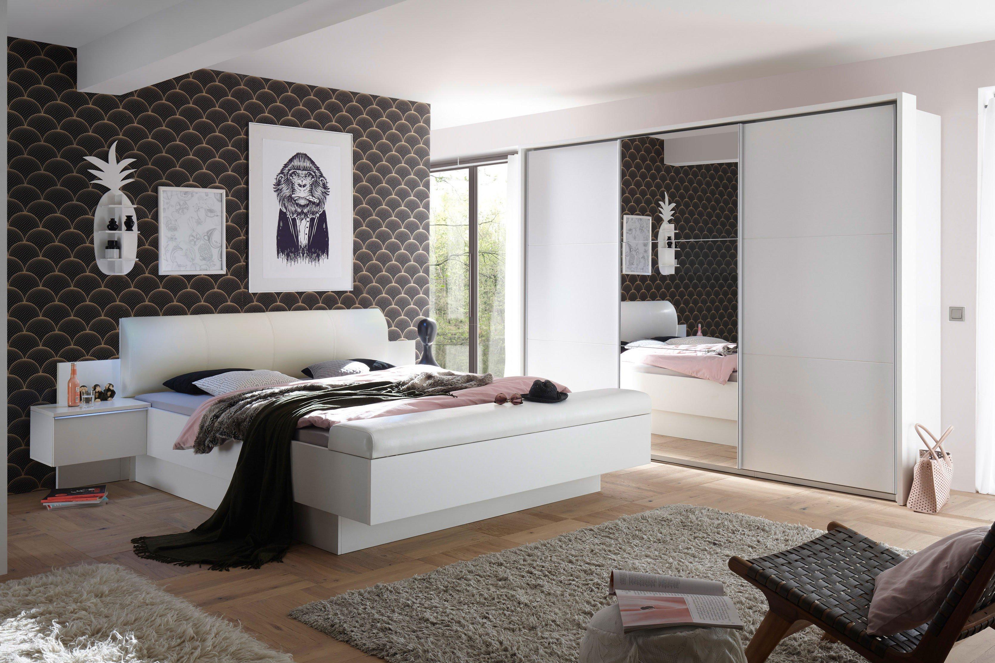 POL Power Bonn & Bravo Schlafzimmer weiß | Möbel Letz - Ihr Online-Shop