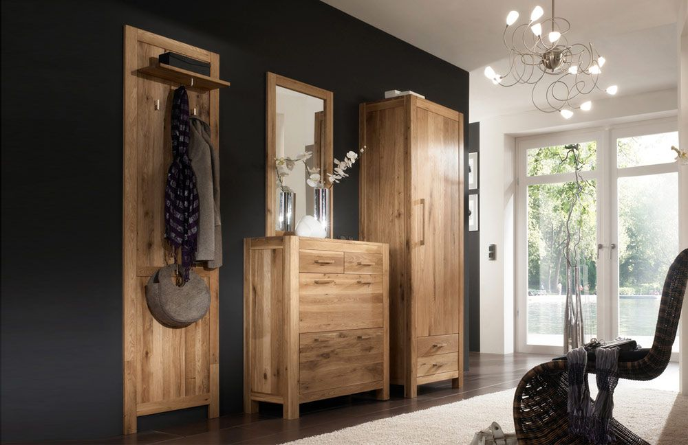 garderobe casa wildeiche henke m bel m bel letz ihr online shop. Black Bedroom Furniture Sets. Home Design Ideas