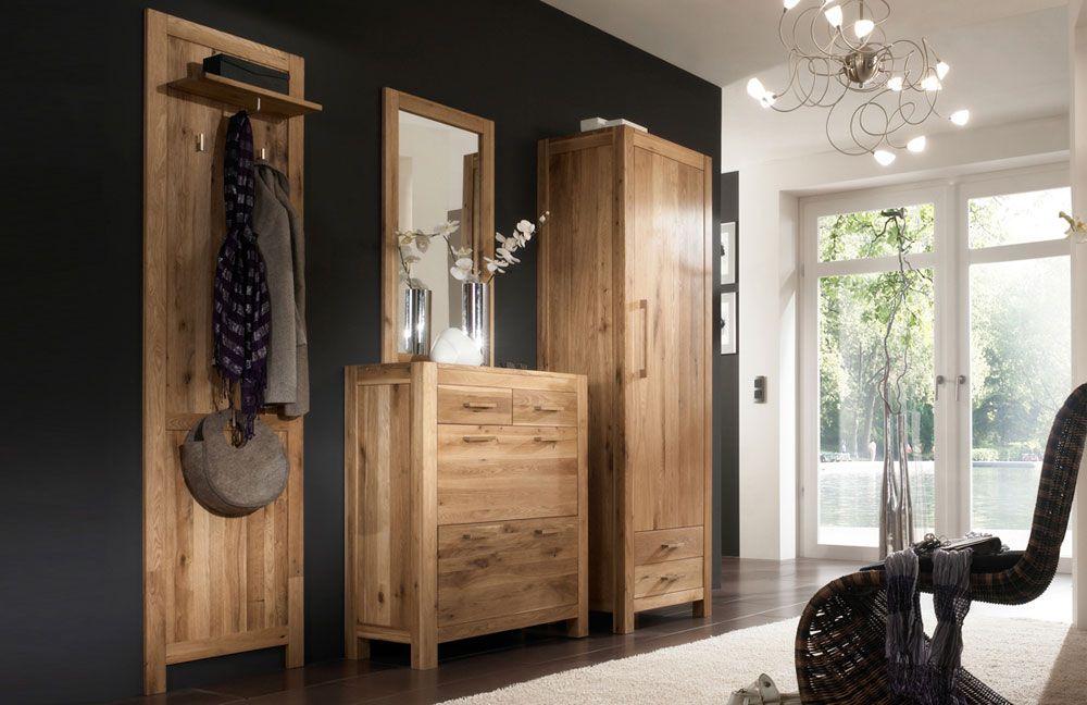 garderobe casa wildeiche henke m bel m bel letz ihr online shop. Black Bedroom Furniture Sets. Home Design Ideas
