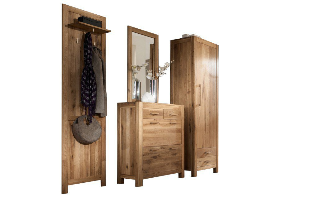 garderobe casa wildeiche henke m bel m bel letz ihr. Black Bedroom Furniture Sets. Home Design Ideas