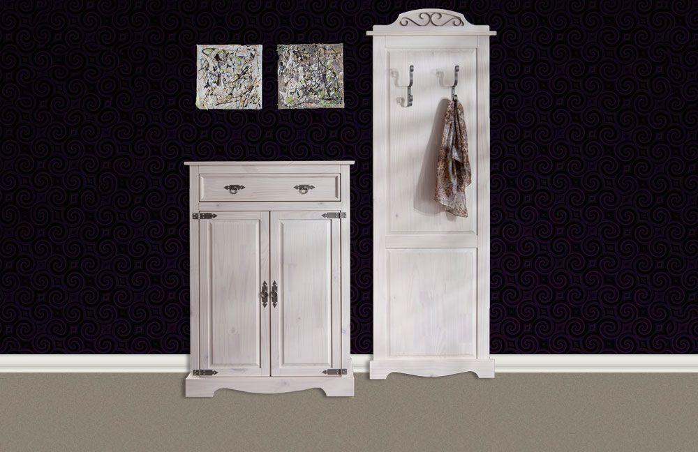 Mexican Weiß Von Henke Möbel   Garderobe, Aus Weißer Kiefer