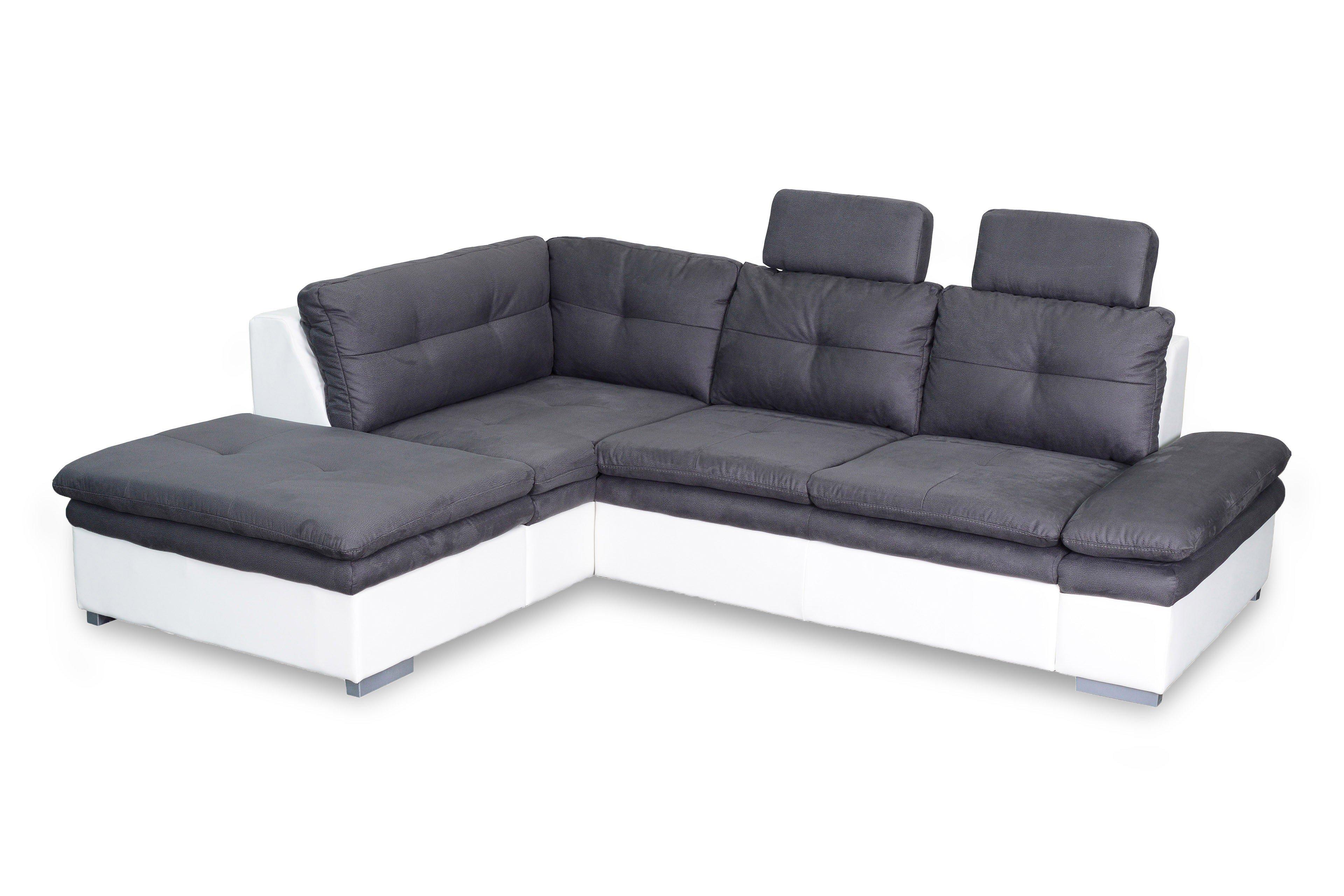 Cotta Hit Ecksofa Anthracite White Möbel Letz Ihr Online Shop