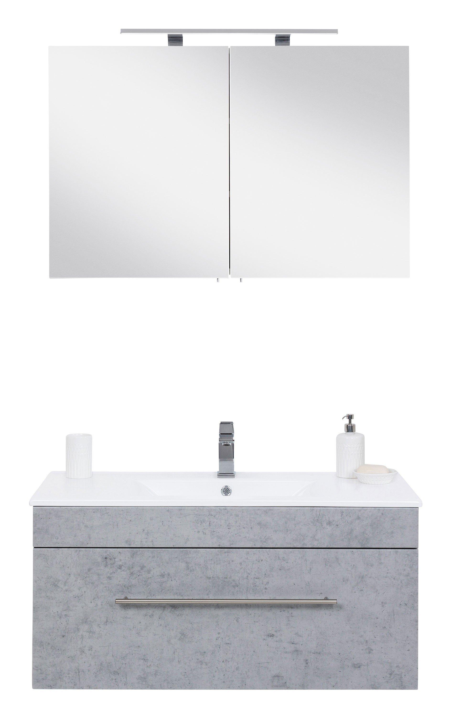Viva von Posseik - Badezimmer weiß & Beton