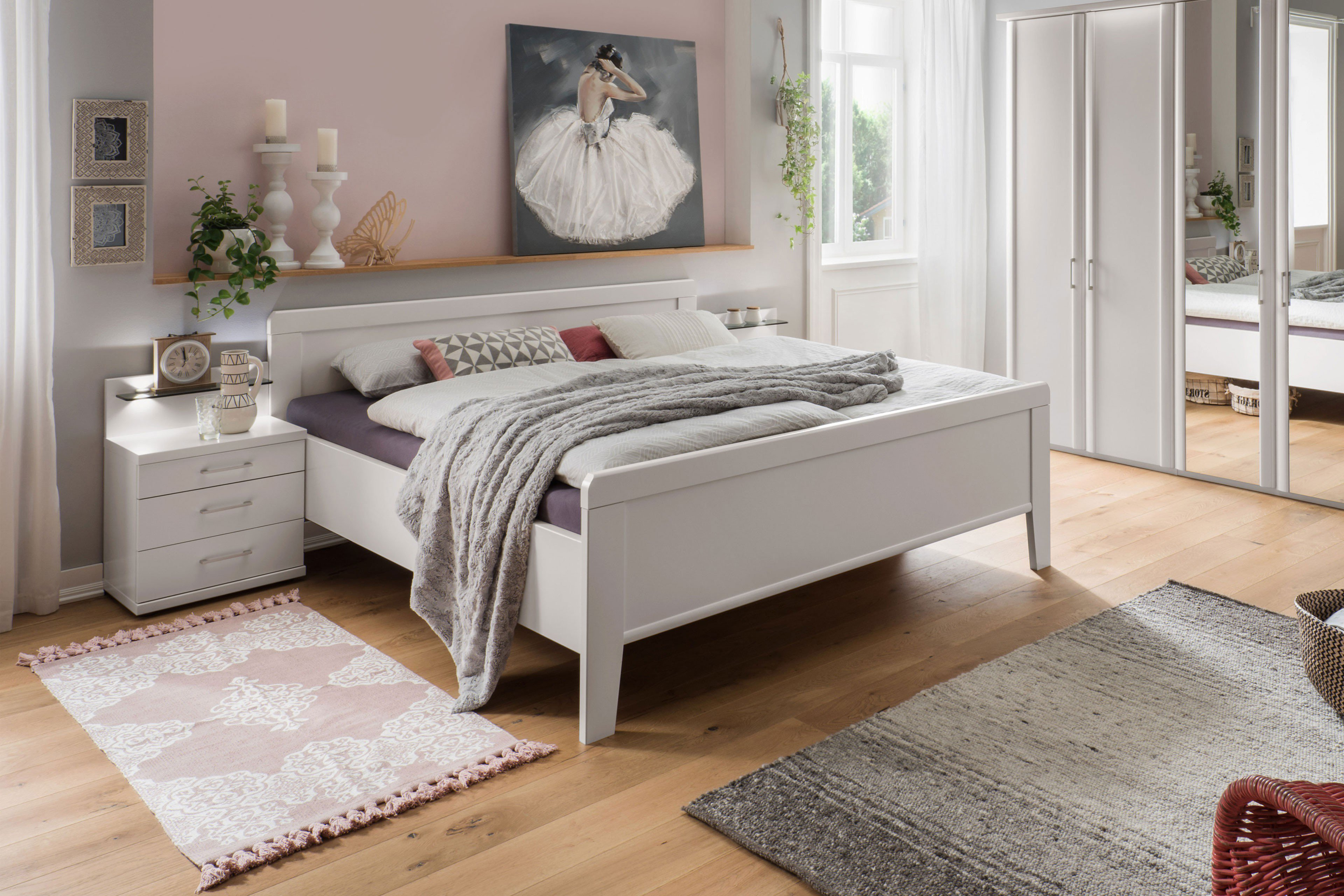 Wiemann Bern 140er Bett Weiß Möbel Letz Ihr Online Shop