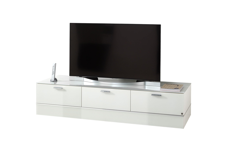 LEONARDO living Lowboard CUBE in Weiß | Möbel Letz - Ihr Online-Shop