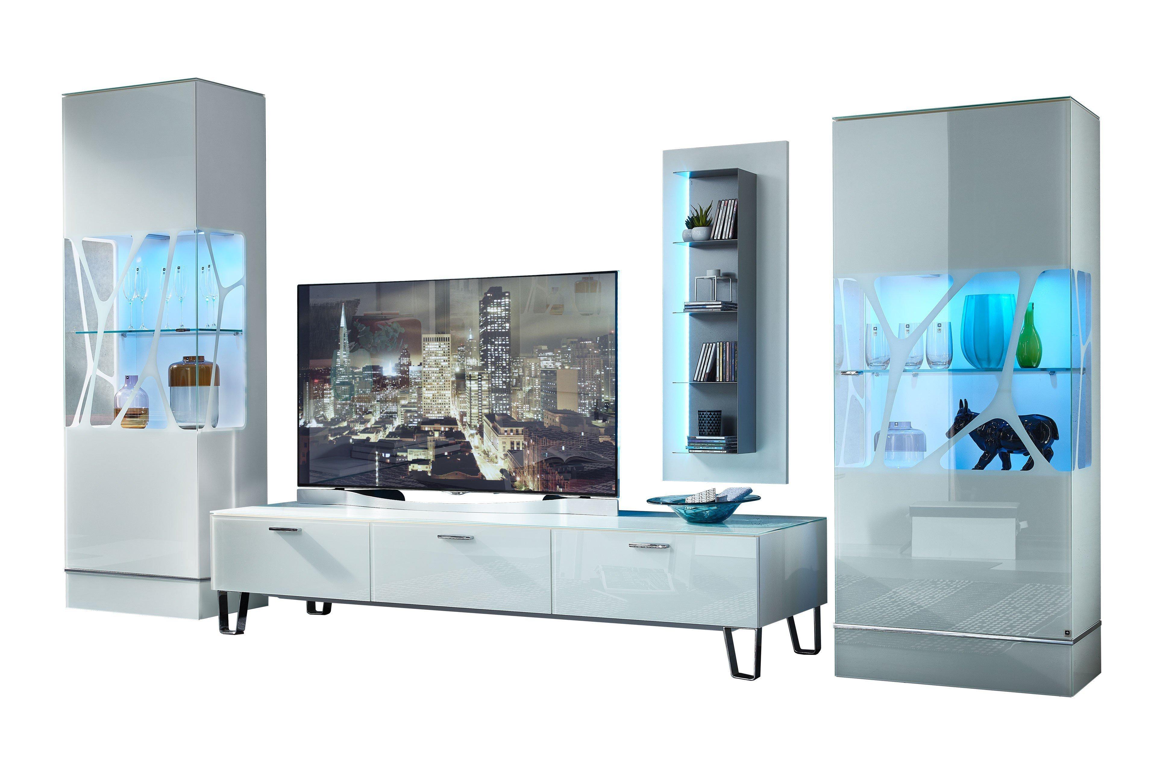 Leonardo Living Wohnwand Ev 13 Cube Weiß Möbel Letz Ihr Online Shop