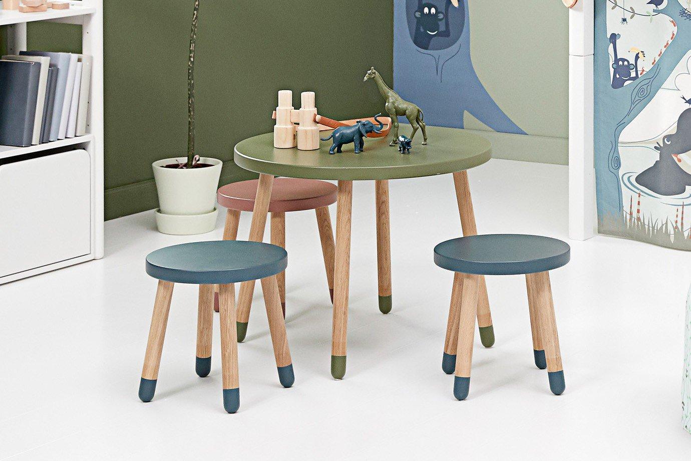 Flexa Play Spieltisch Und Play Hocker Set Eiche Möbel Letz Ihr