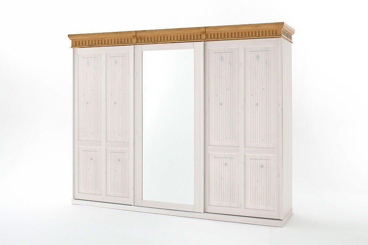 Euro Diffusion Helsinki Holz Schrank Weiß 3 Türig Möbel Letz Ihr