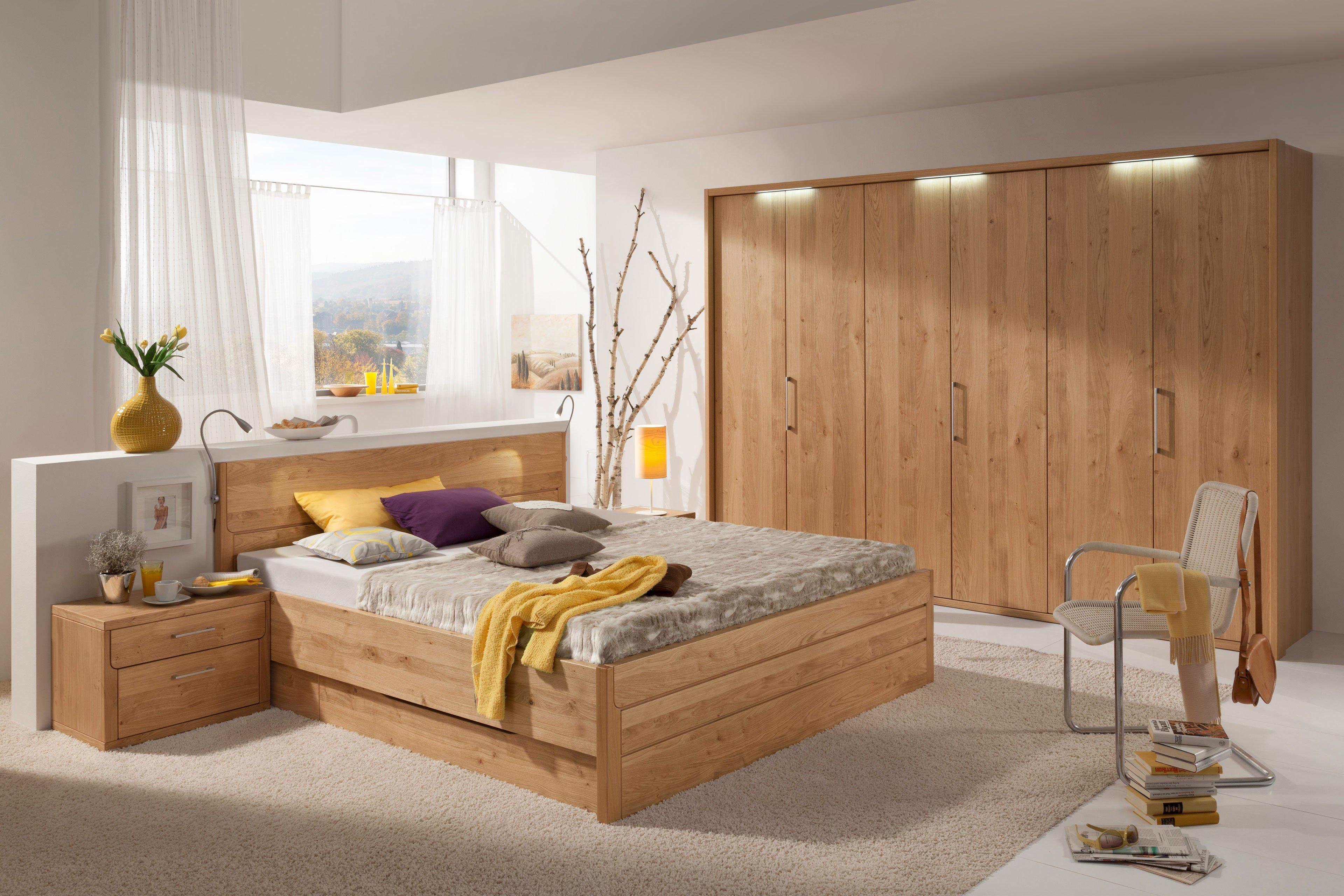 Bergamo von Dietz - Schlafzimmer Wildeiche-Furnier