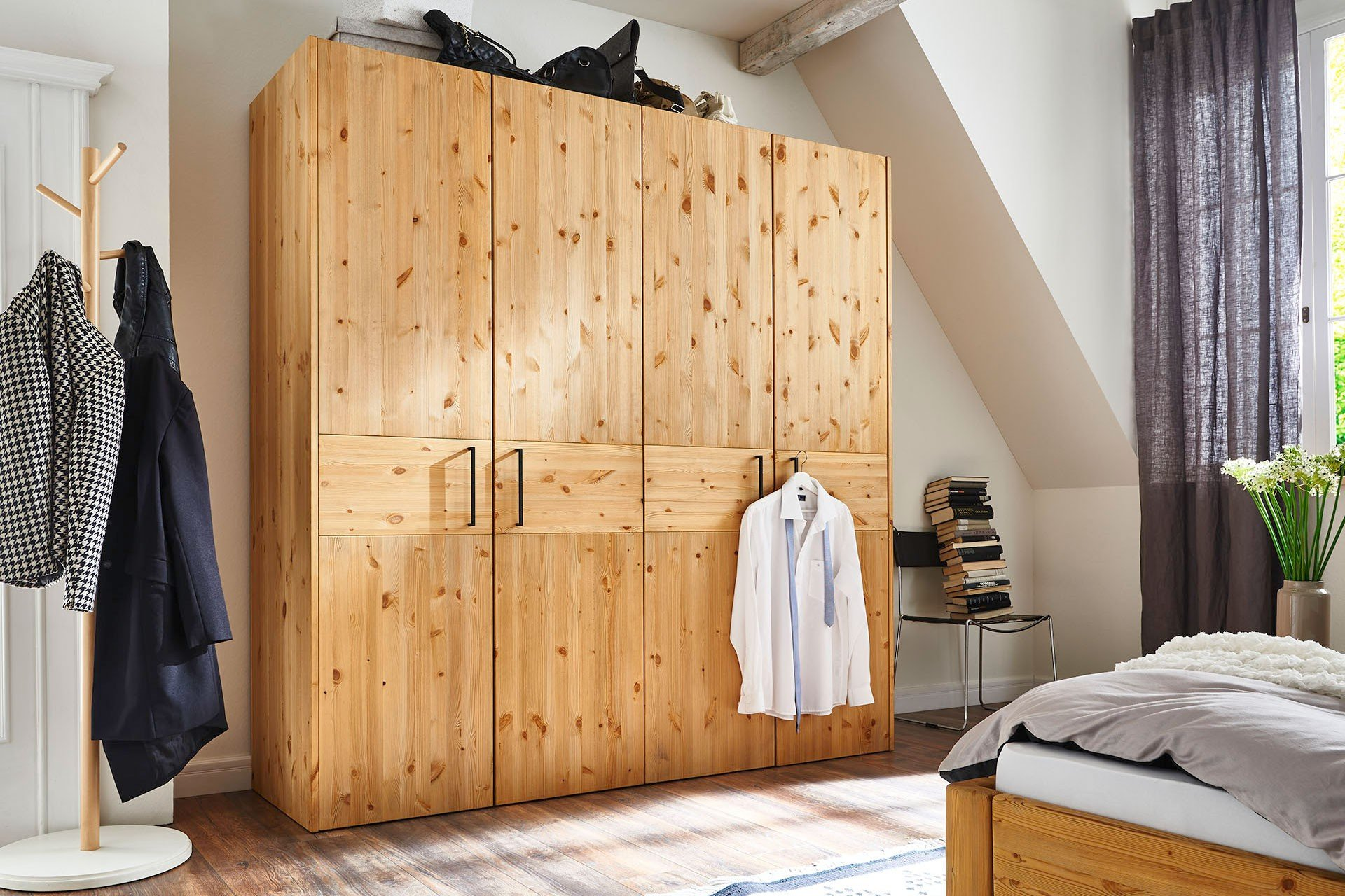 Hkc Move In Schrank 4 Türig Kiefernholz Möbel Letz Ihr Online Shop