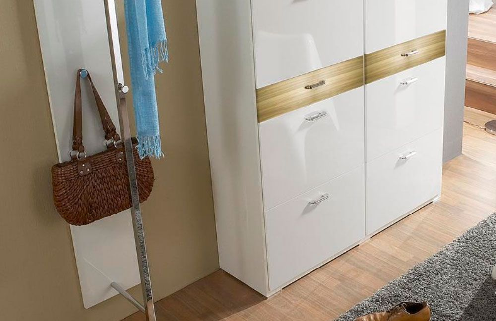 Dielenm bel online kaufen hochwertige dielenm bel f r for Schuhschrank echtholz