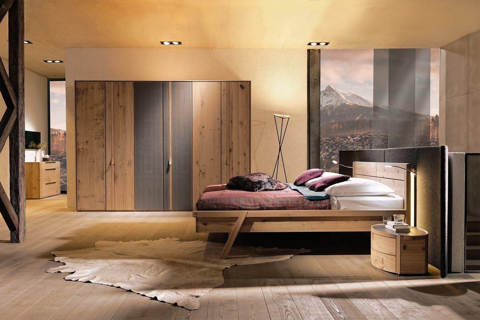 voglauer v-vaganto design-schlafzimmer wildeiche | möbel letz - ihr  online-shop