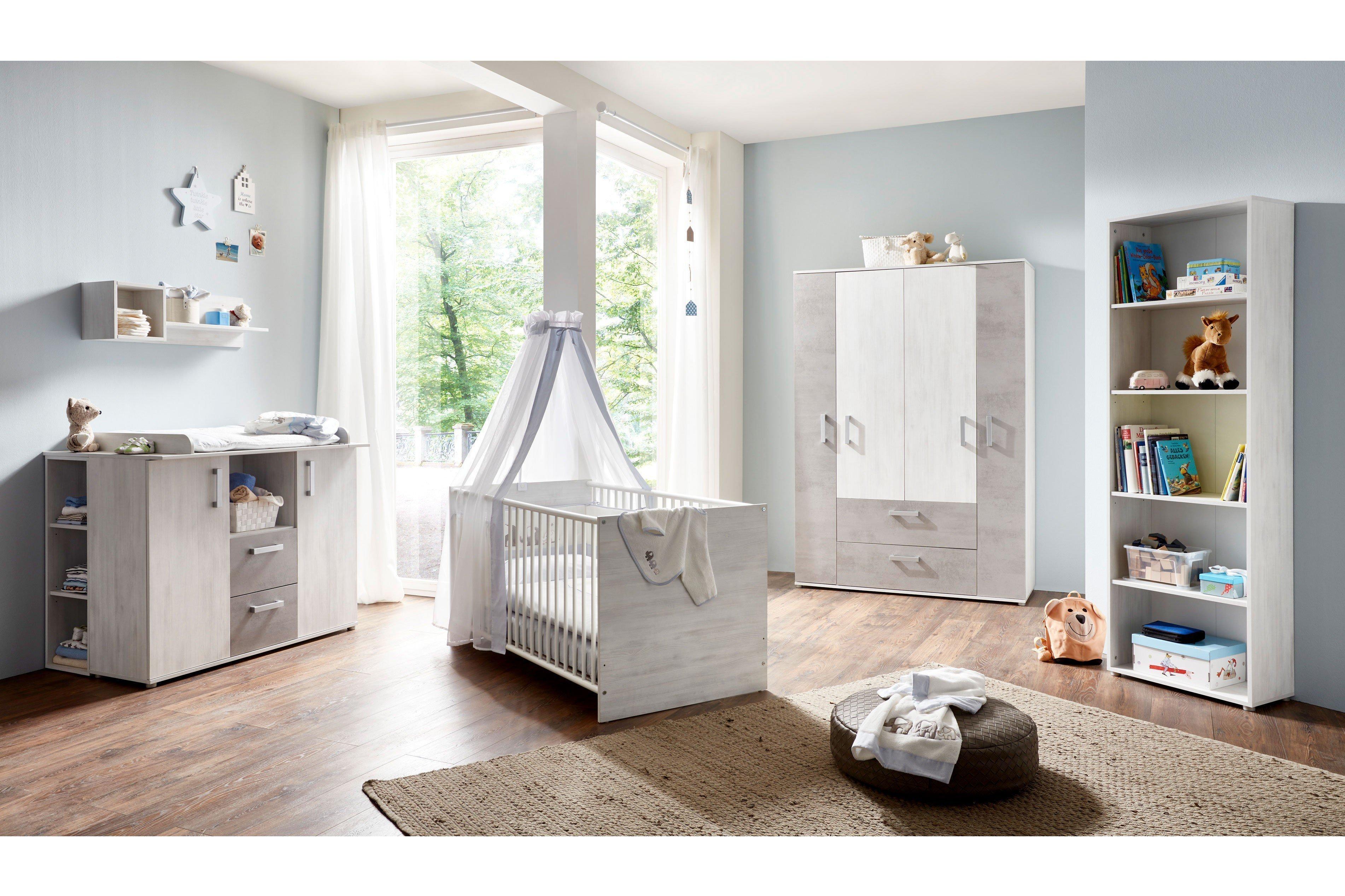 Arthur Berndt Insa Babyzimmer-Set weiß/ grau   Möbel Letz - Ihr ...