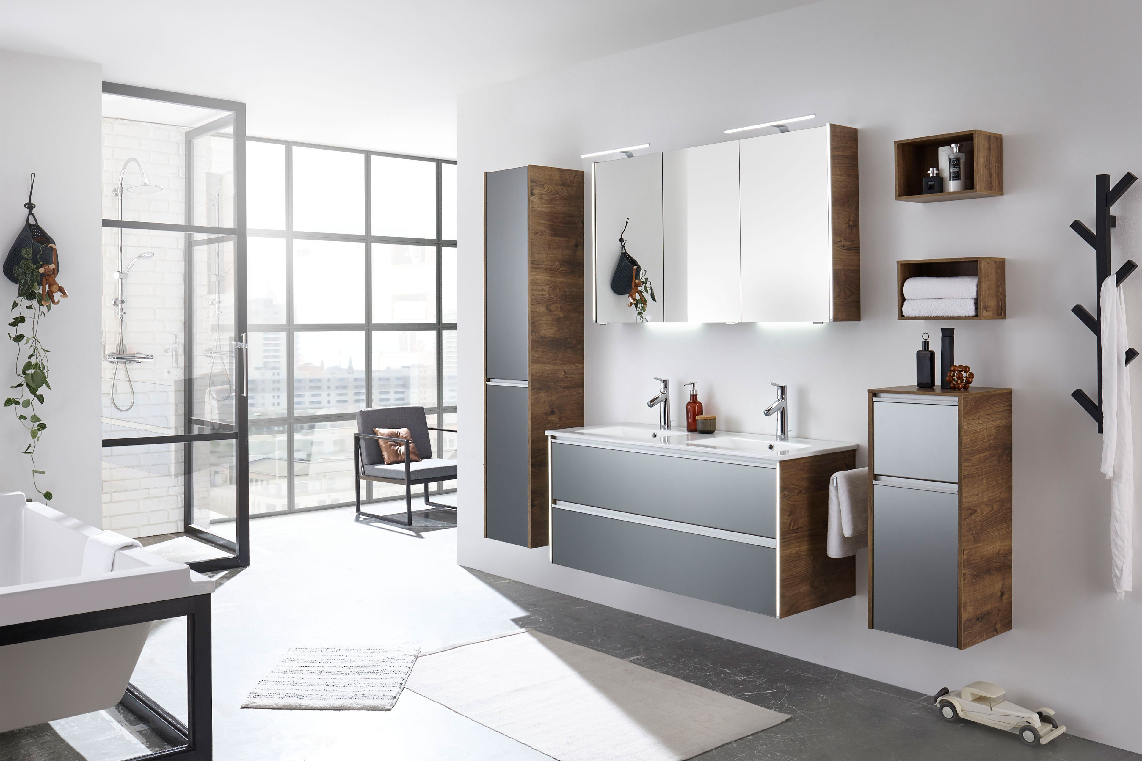 Pelipal Badezimmer Solitaire 6040 Glas Metallic Eiche Ribbeck Mobel Letz Ihr Online Shop