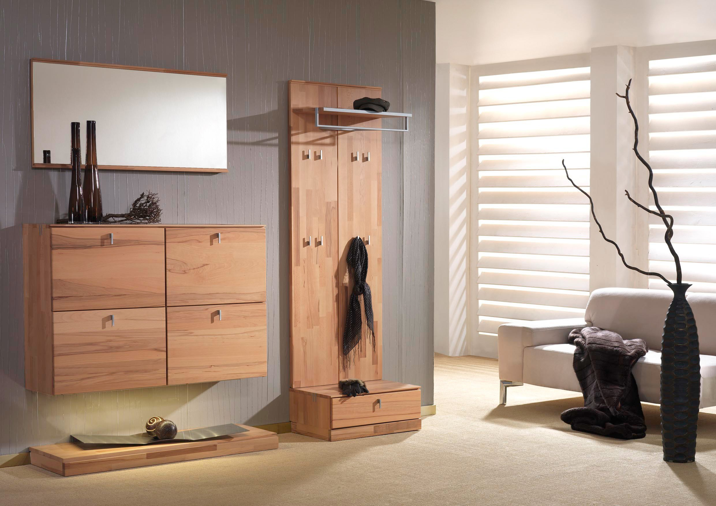 bienenm hle vado garderobe set 08 kernbuche m bel letz ihr online shop. Black Bedroom Furniture Sets. Home Design Ideas
