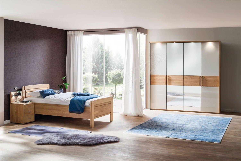 Kiruna von Wiemann - Senioren-Schlafzimmer Eiche teilmassiv