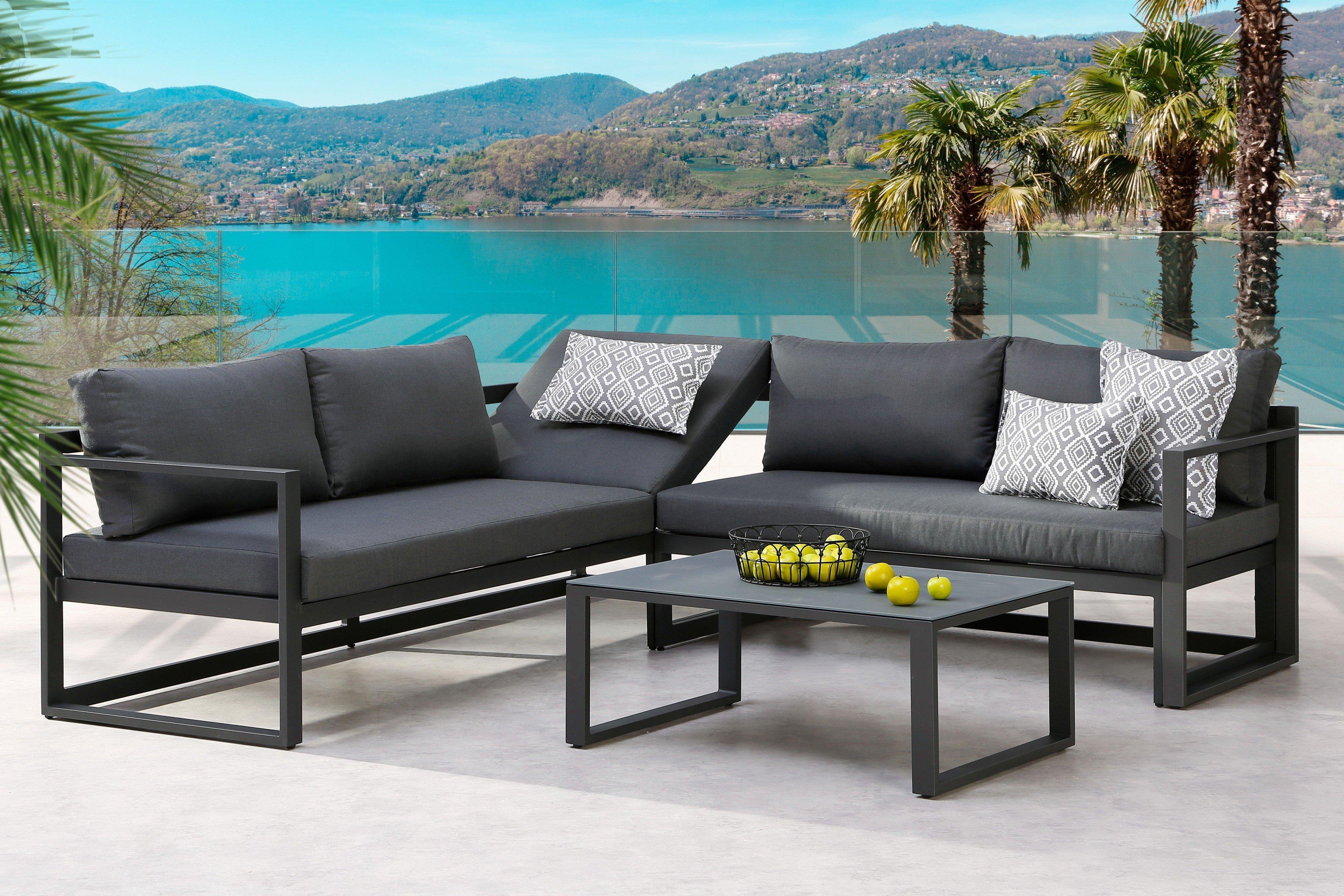 Best Gartenmöbel Lounge Rhodos Anthrazit Möbel Letz Ihr Online Shop