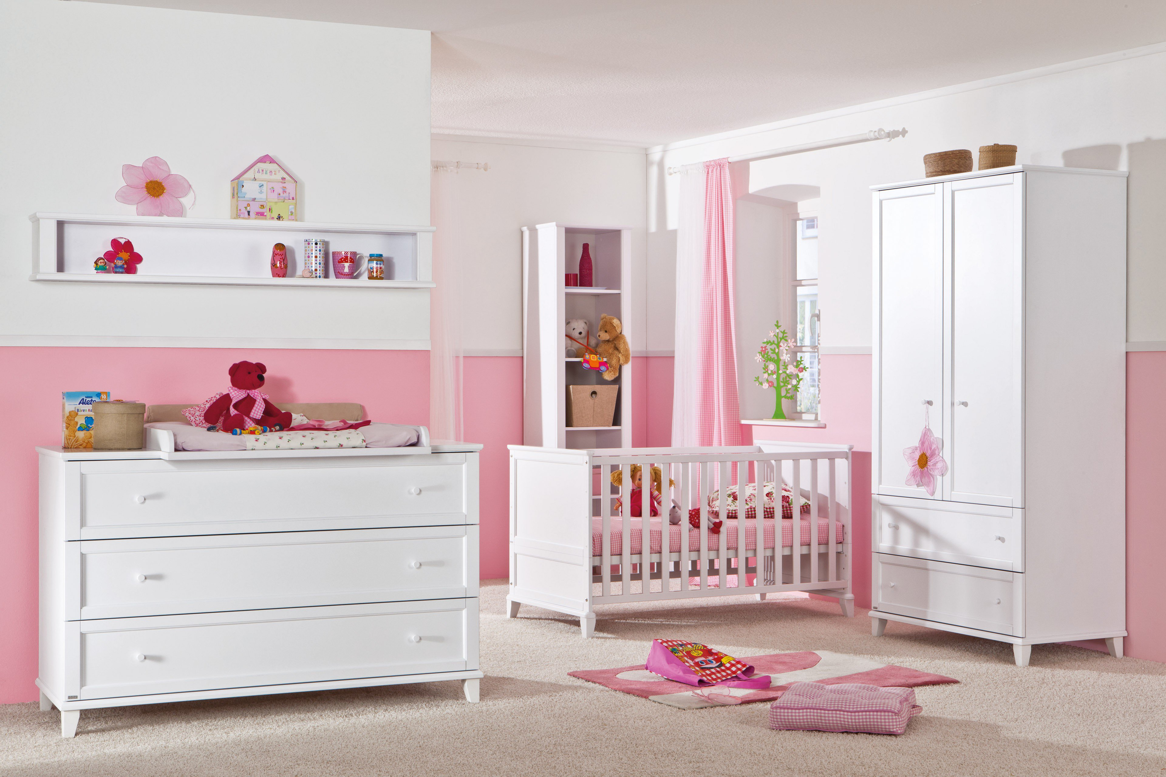 paidi komplett babyzimmer sophia wei m bel letz ihr online shop. Black Bedroom Furniture Sets. Home Design Ideas