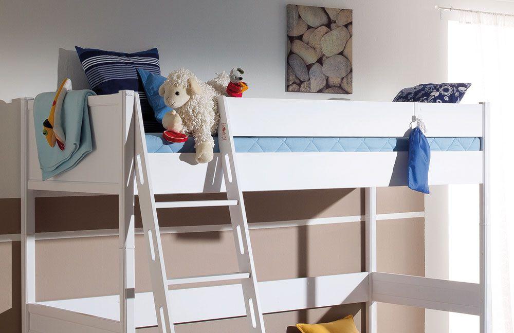 hochbett sophia von paidi in icy white m bel letz ihr. Black Bedroom Furniture Sets. Home Design Ideas