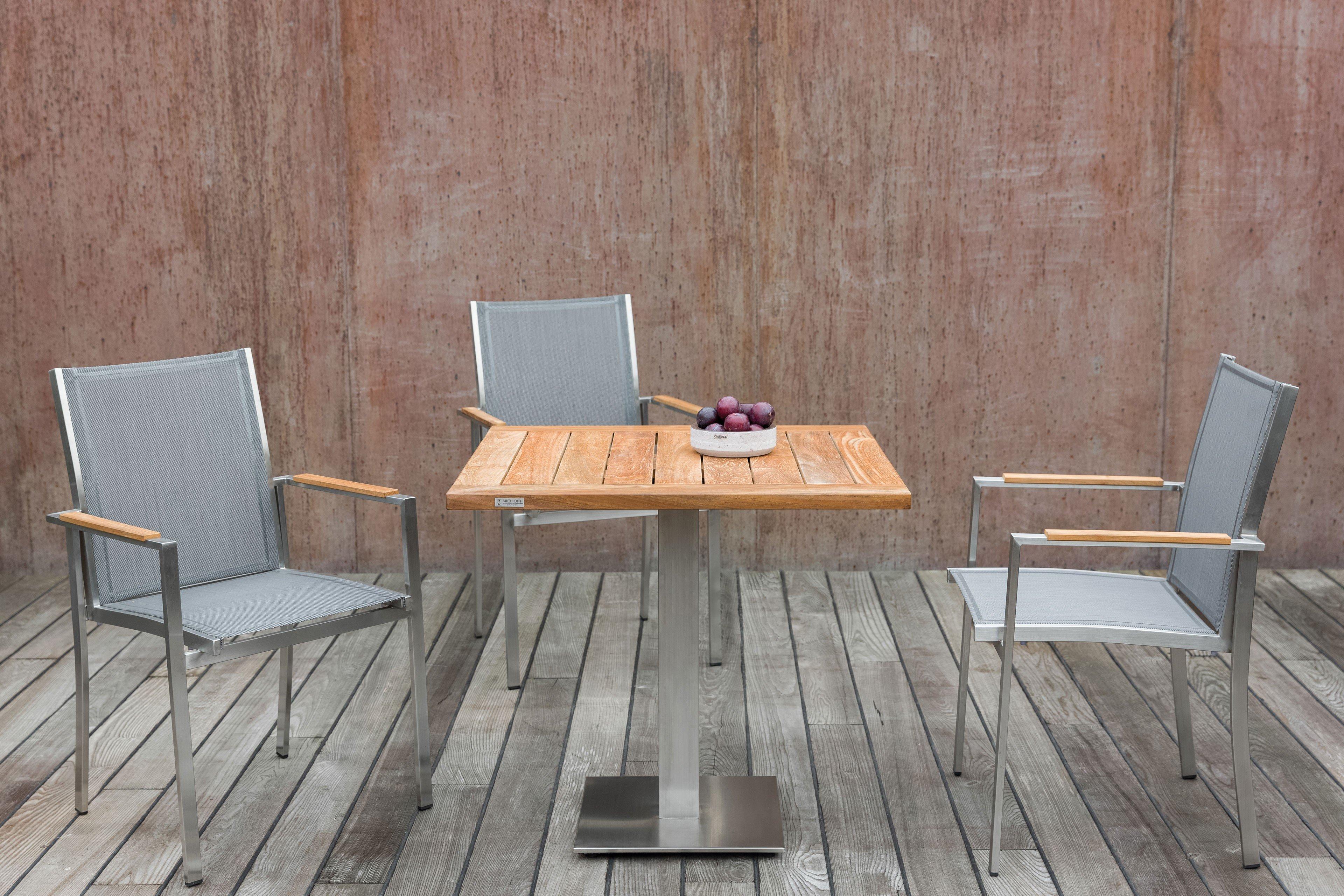 Niehoff Garden Bistro Gartentisch Möbel Letz Ihr Online Shop