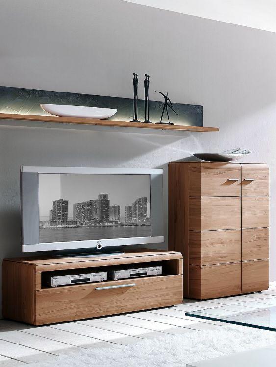 wohnwand trento von hartmann in kernbuche nr 42 m m bel. Black Bedroom Furniture Sets. Home Design Ideas