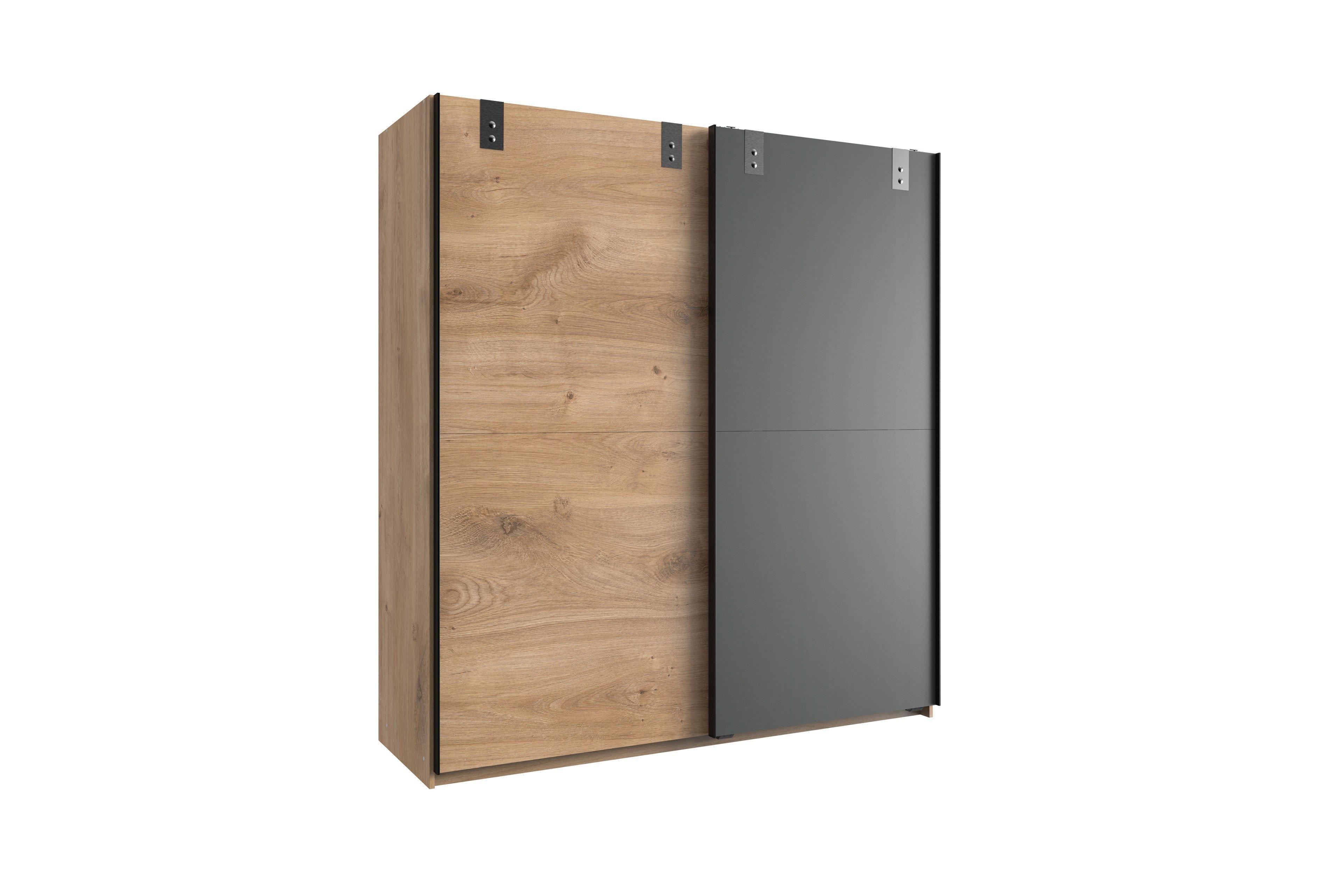 liverpool von wimex kleiderschrank mit schwebet ren. Black Bedroom Furniture Sets. Home Design Ideas