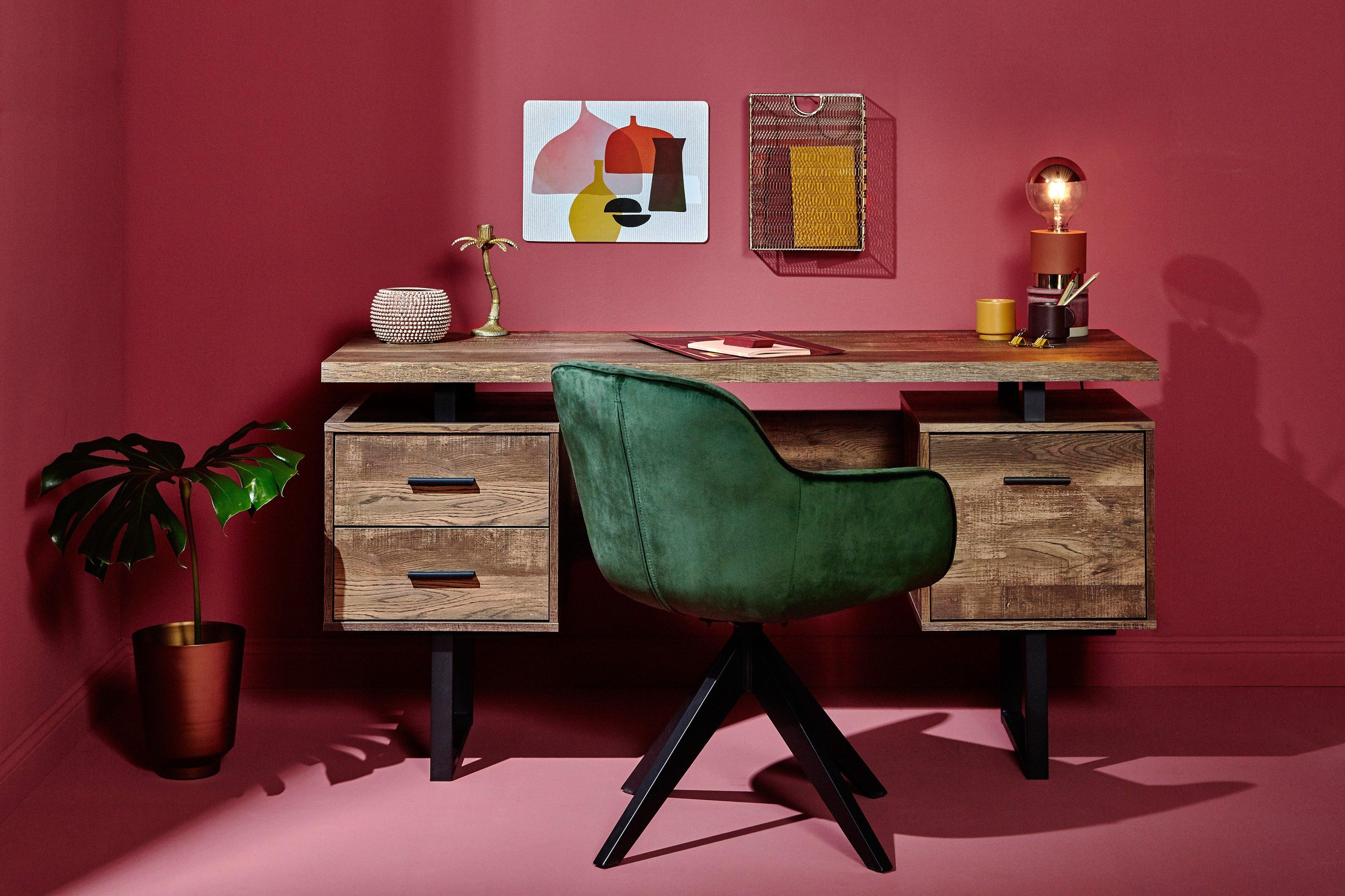 jahnke clb 150 vintage schreibtisch m bel letz ihr. Black Bedroom Furniture Sets. Home Design Ideas