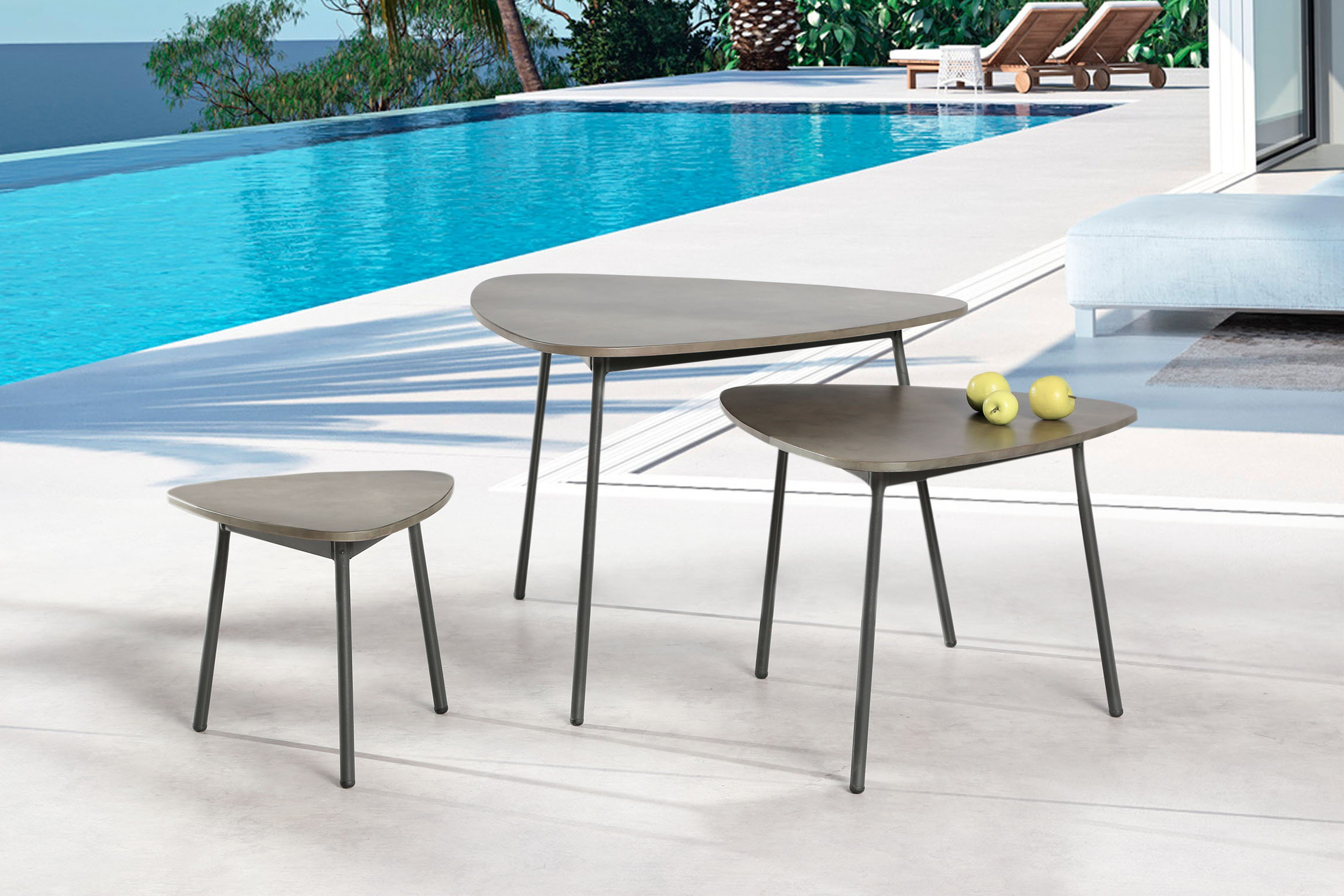 Andros Von Best Freizeitmöbel Beistelltisch Ca 55 Cm Hoch