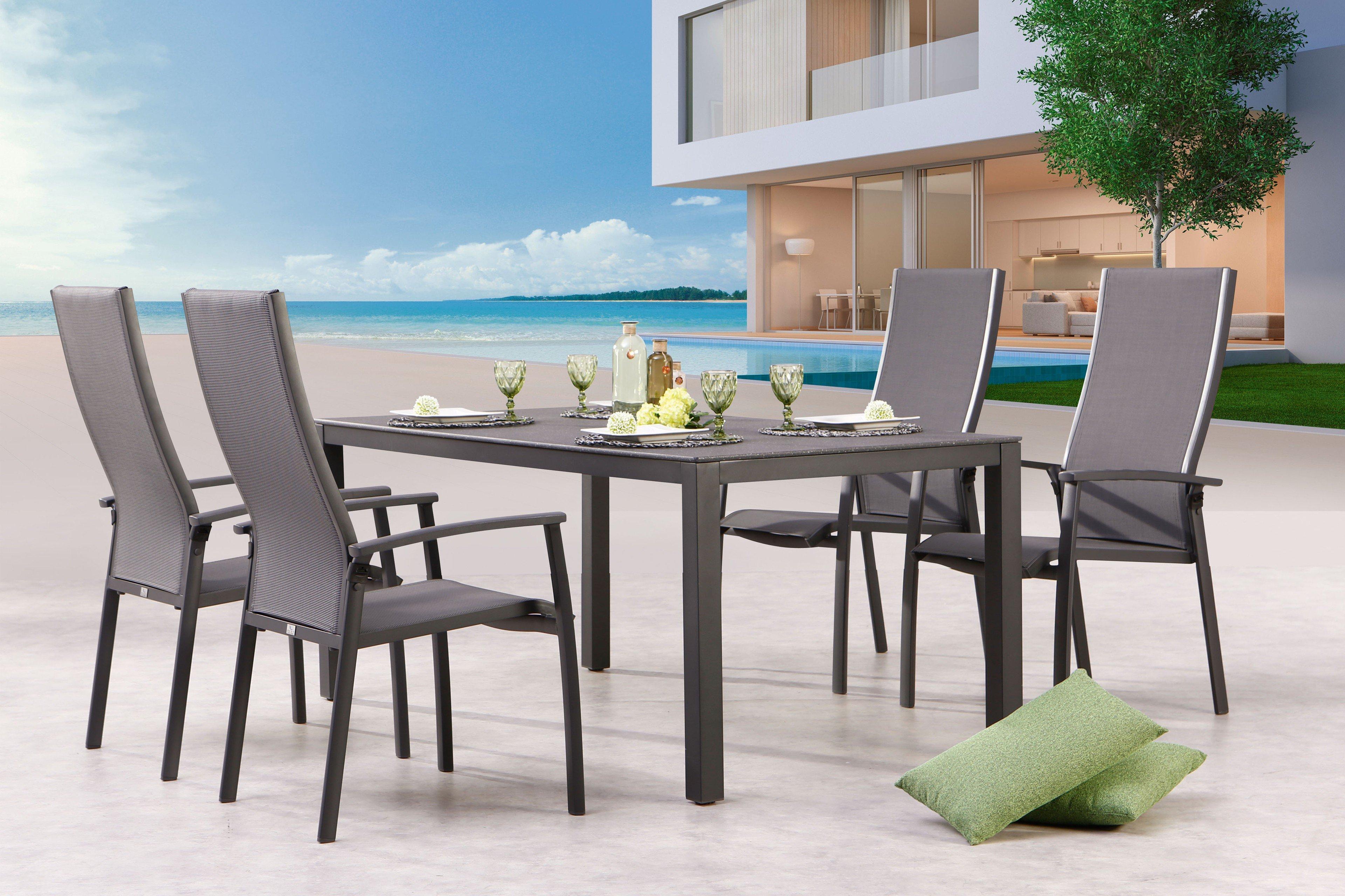Best Gartentisch Livorno Aluminium Anthrazit Möbel Letz Ihr