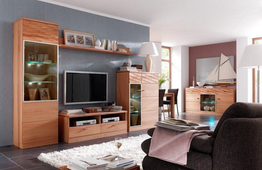 wohnwand ii madea von mca m bel letz ihr online shop. Black Bedroom Furniture Sets. Home Design Ideas