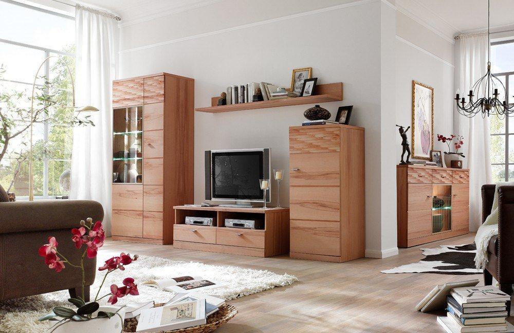 wohnwand iii madea von mca m bel letz ihr online shop. Black Bedroom Furniture Sets. Home Design Ideas