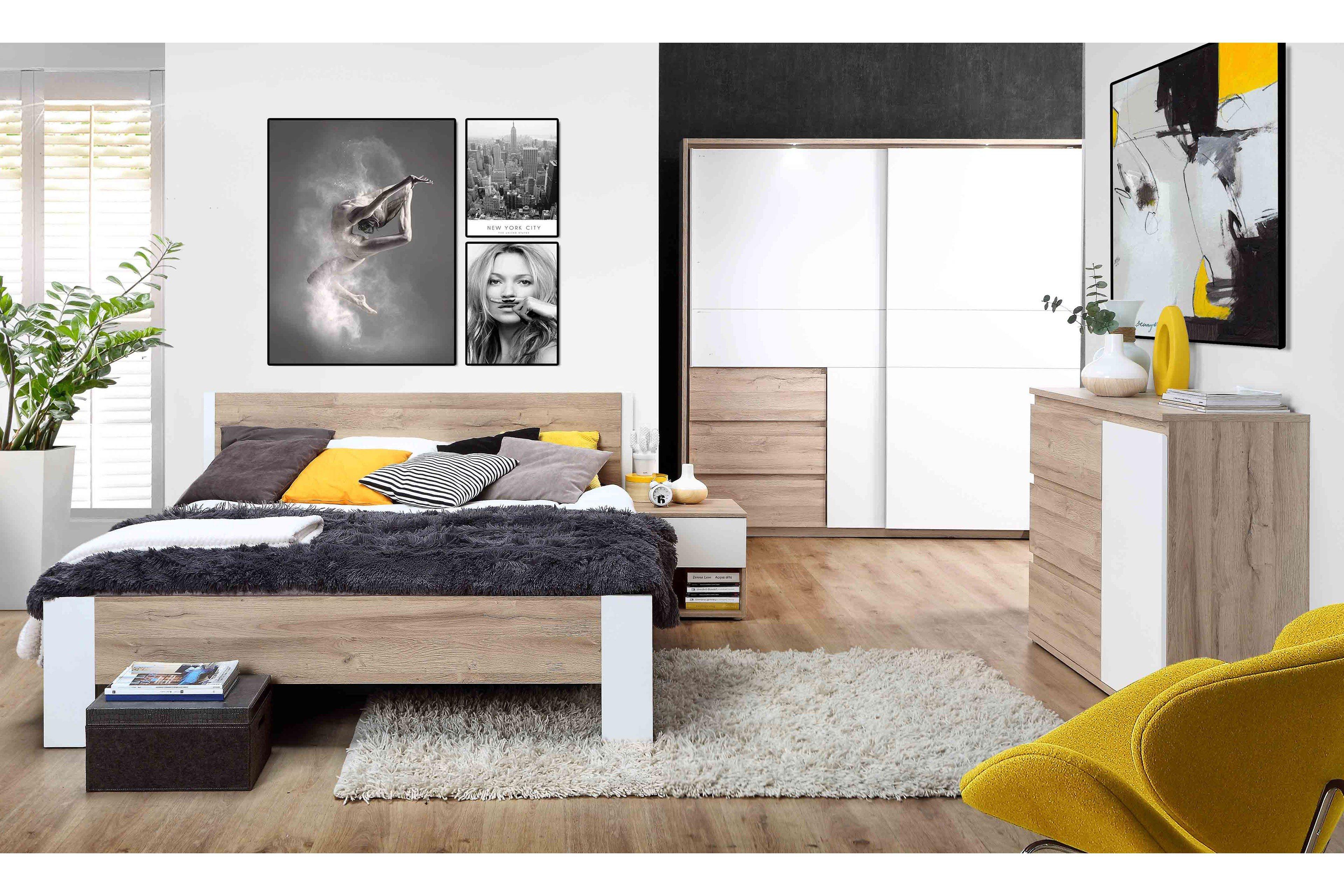 Forte Collet Schlafzimmer-Einrichtung 3-teilig | Möbel Letz - Ihr ...