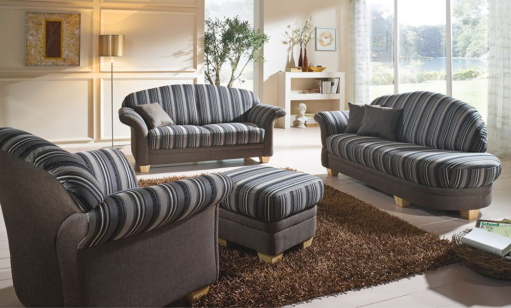 sofa gestreift stunning heine rattan samt textilsofa with sofa gestreift simple madrid. Black Bedroom Furniture Sets. Home Design Ideas