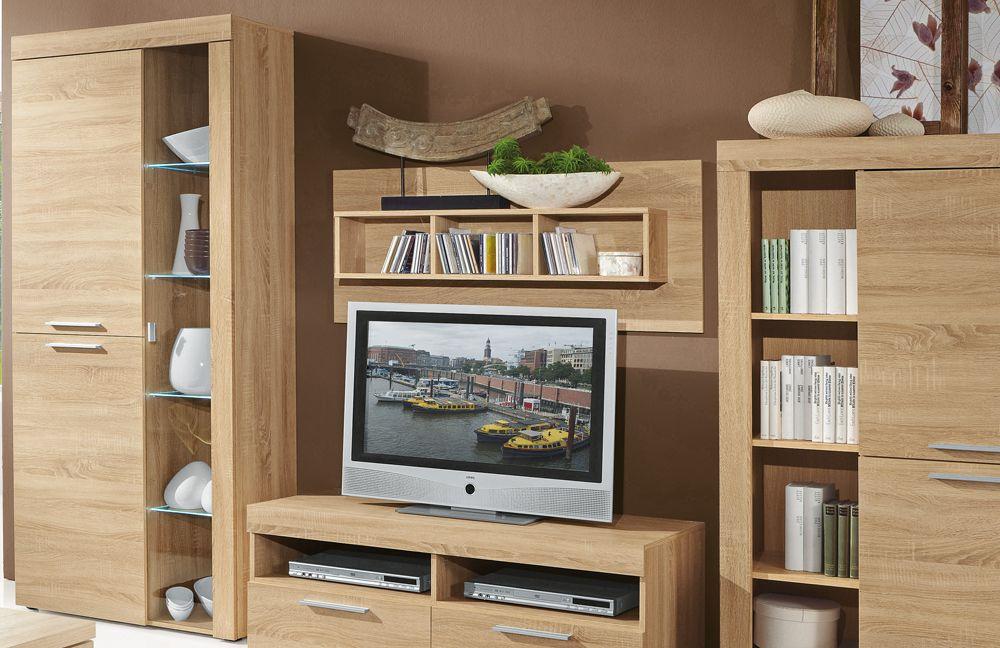 Wohnwand Granada 1 von Domina Möbel. Möbel Letz - Ihr ...