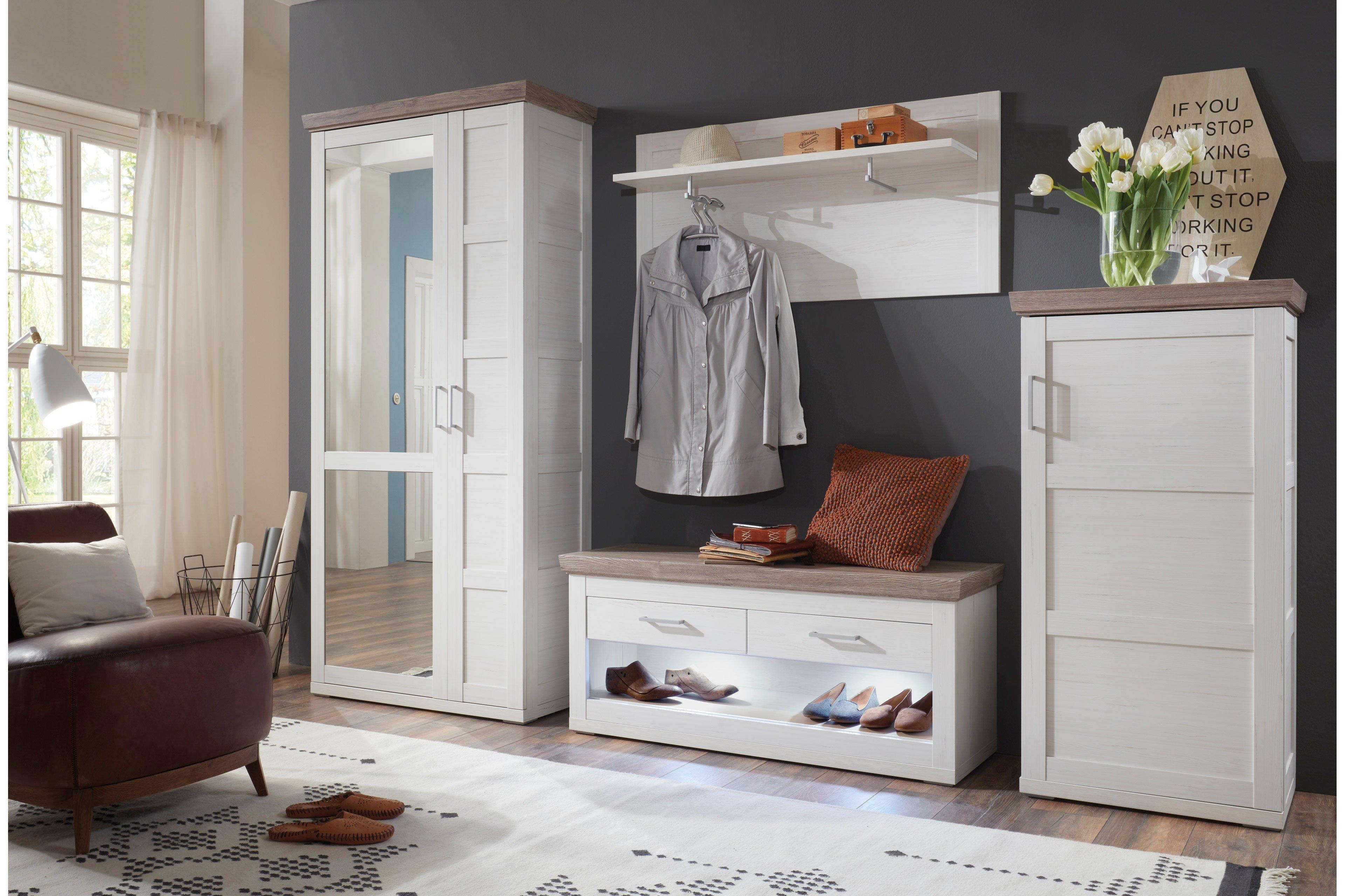 Gut Bana Von IDEAL Möbel   Garderobe Pino Aurelio/ San Remo Eiche