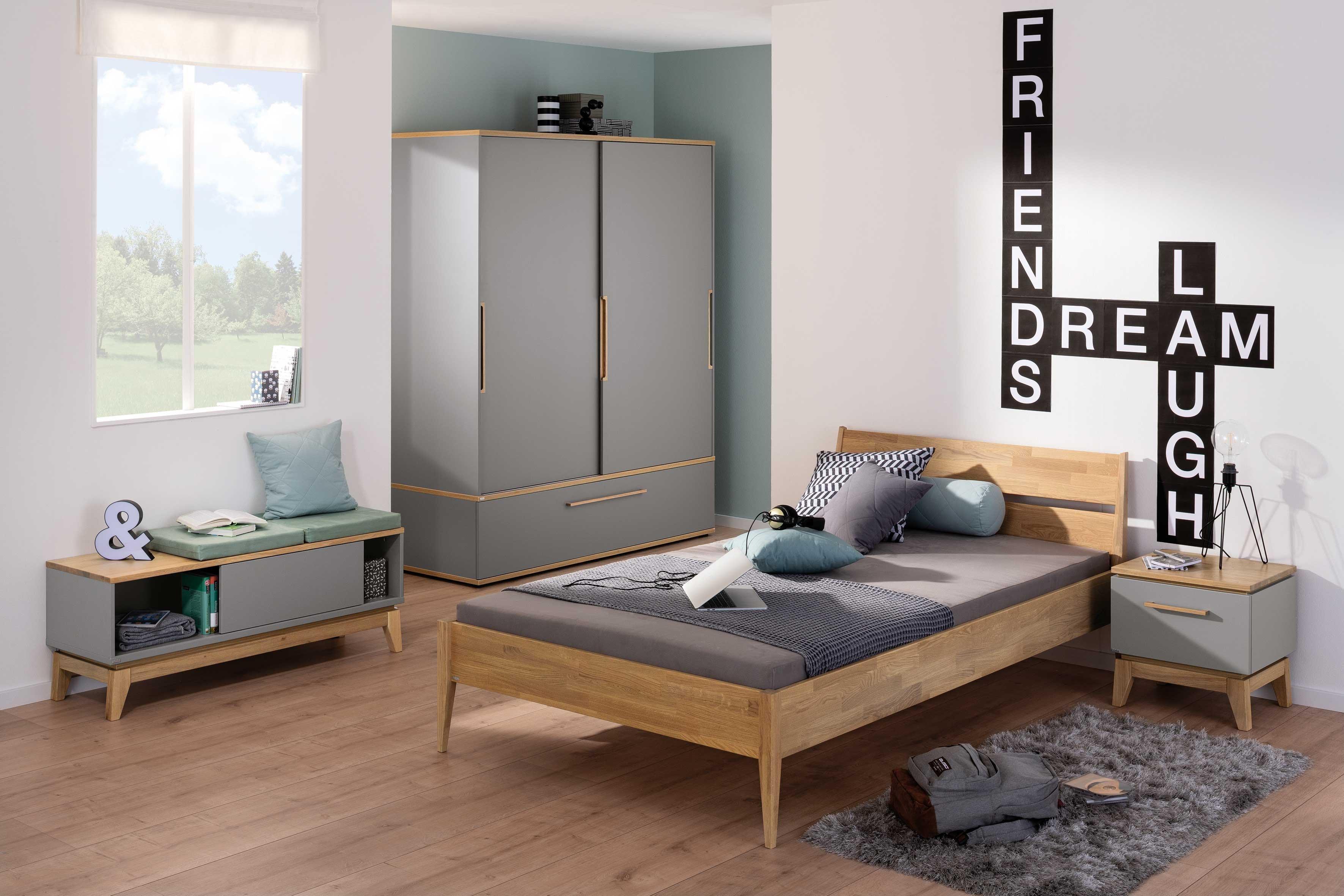 Paidi Sten Jugendzimmer Schrank Und Bett 90x200 Cm Mobel Letz