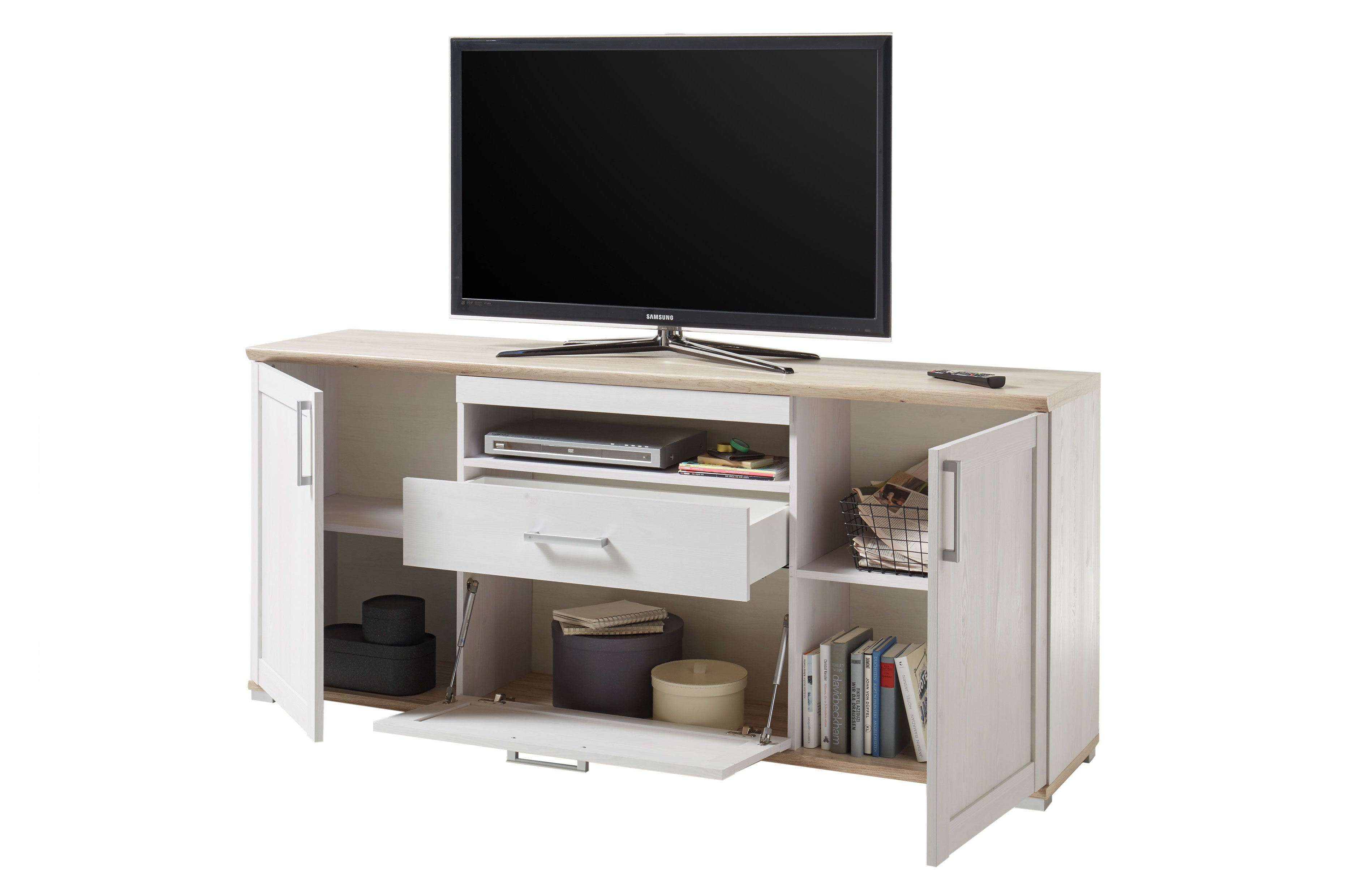Hbz Meble Tv Sideboard Romance 44 028 D4 Sibiu Larche San Remo Hell
