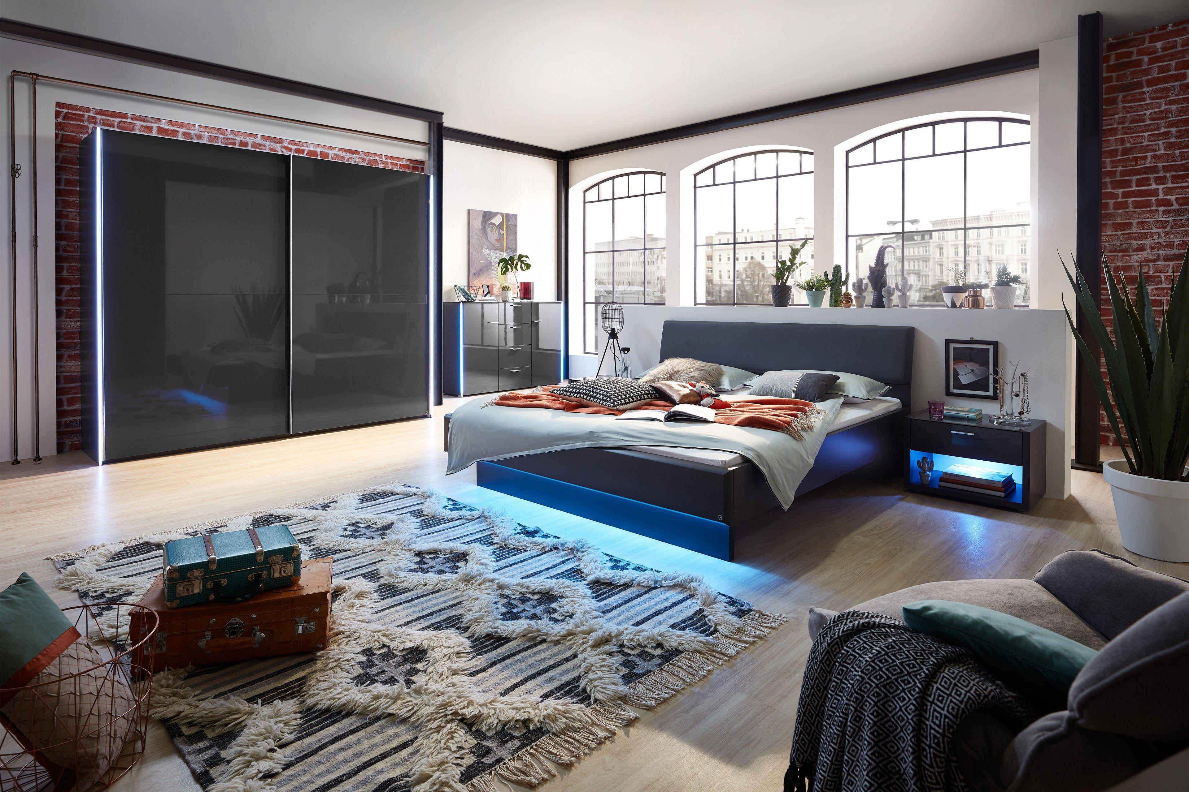 JOY von LEONARDO living - 4-teilige Schlafzimmer-Kombination