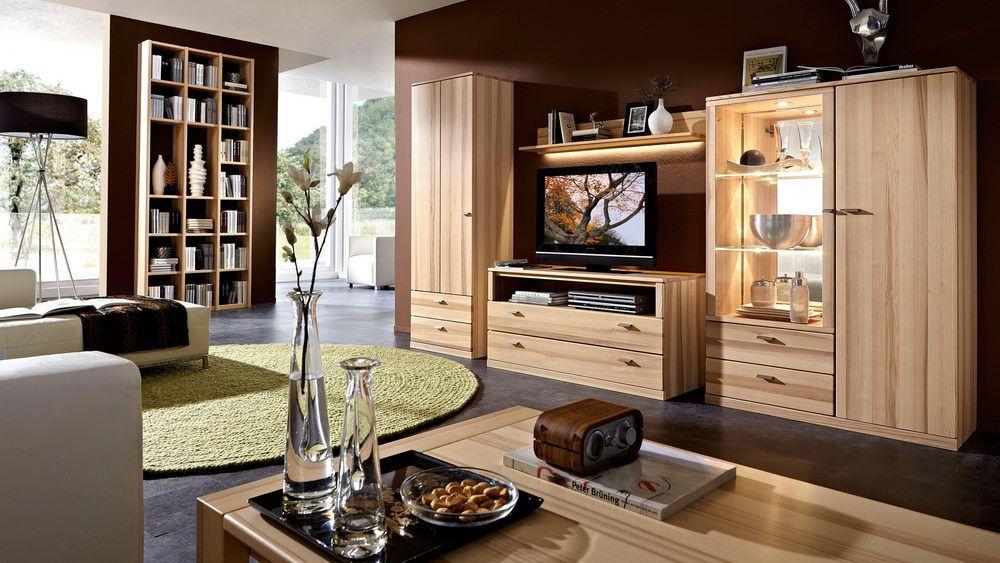 rietberger m belwerke wohnwand lyon kernesche m bel letz. Black Bedroom Furniture Sets. Home Design Ideas