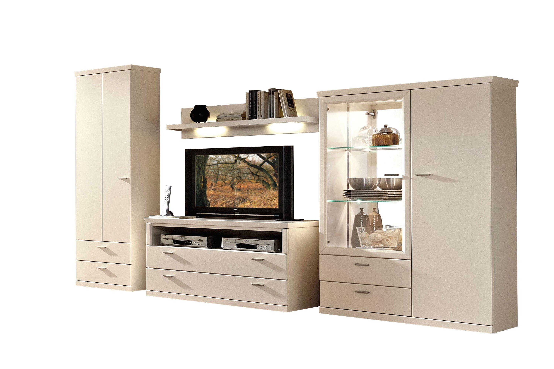 rietberger m belwerke wohnwand lexis 9982 wei m bel. Black Bedroom Furniture Sets. Home Design Ideas
