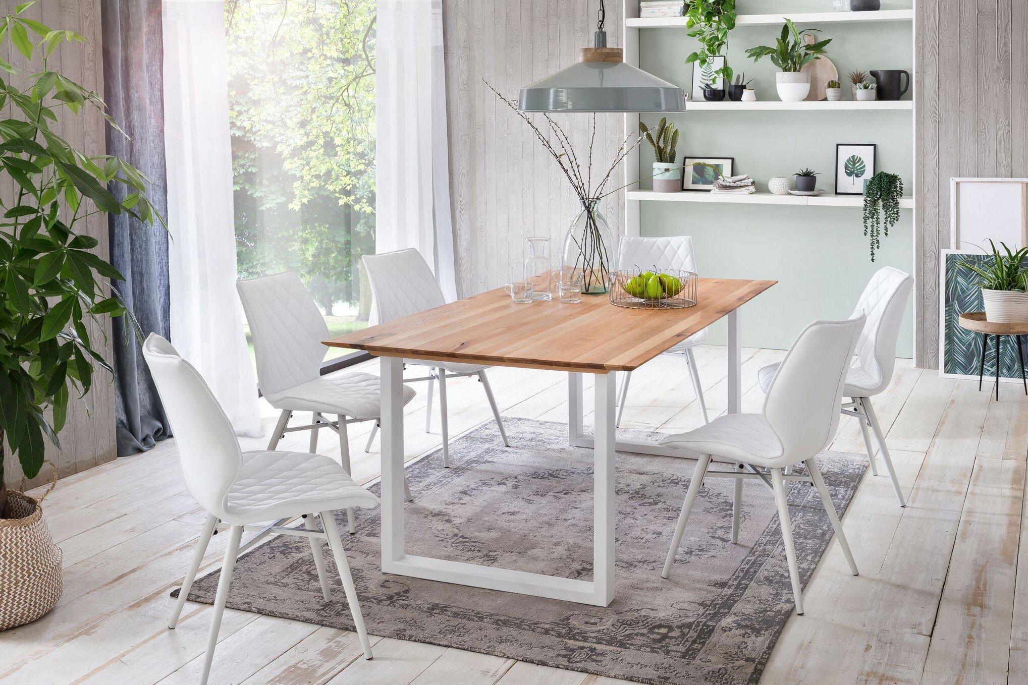 Normen von Skandinavische Möbel - Esstisch aus Eiche geölt