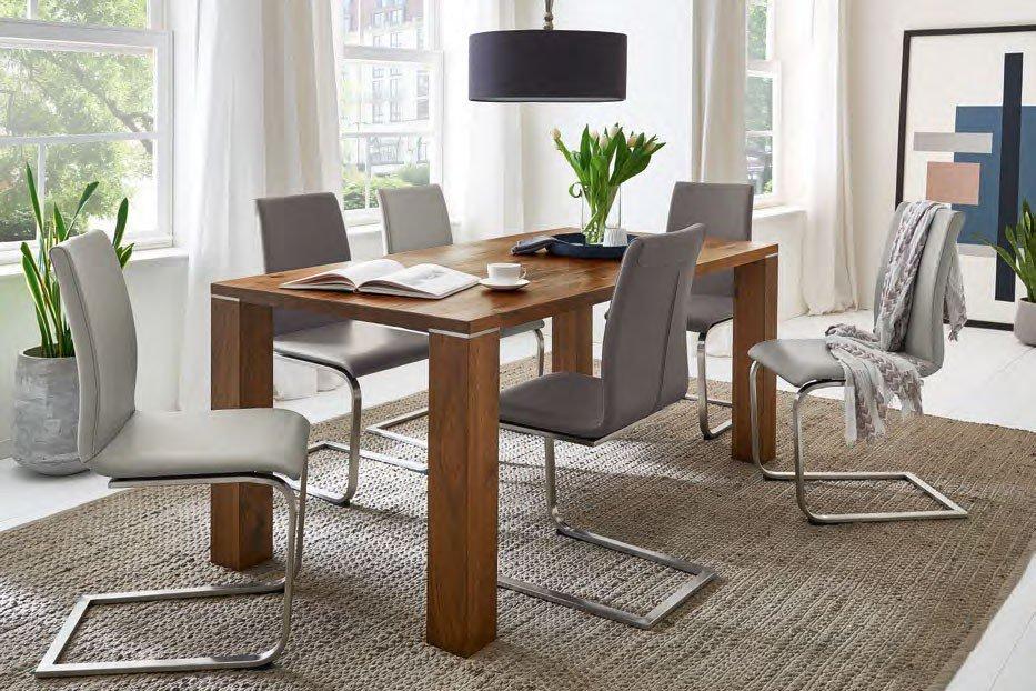 esstisch setline wild nussbaum von niehoff sitzm bel. Black Bedroom Furniture Sets. Home Design Ideas