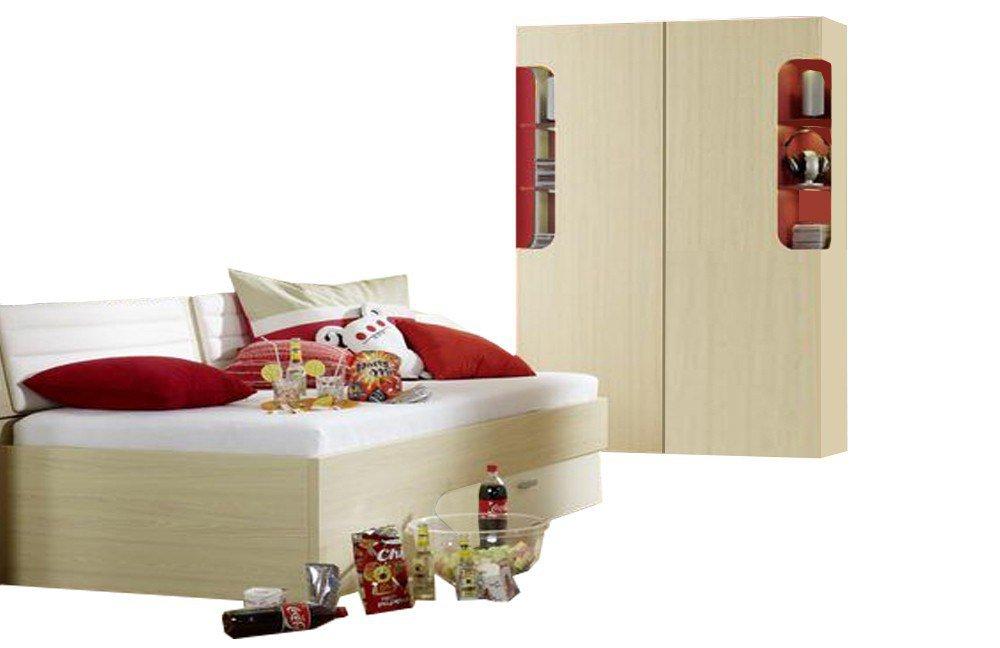 rudolf max i jugendzimmer ahorn rot m bel letz ihr online shop. Black Bedroom Furniture Sets. Home Design Ideas