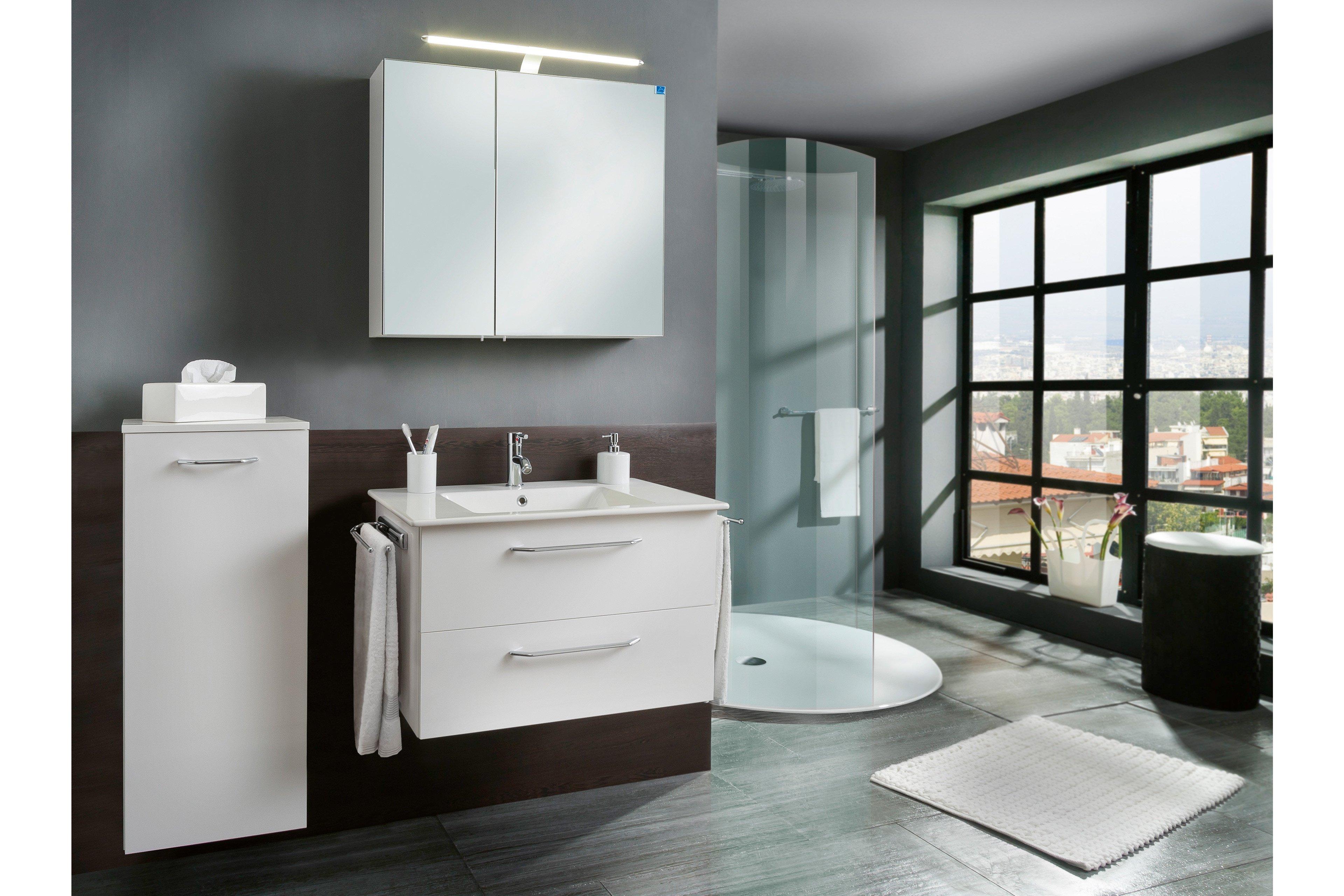 3030 von Marlin - Badezimmer weiß Seidenglanz