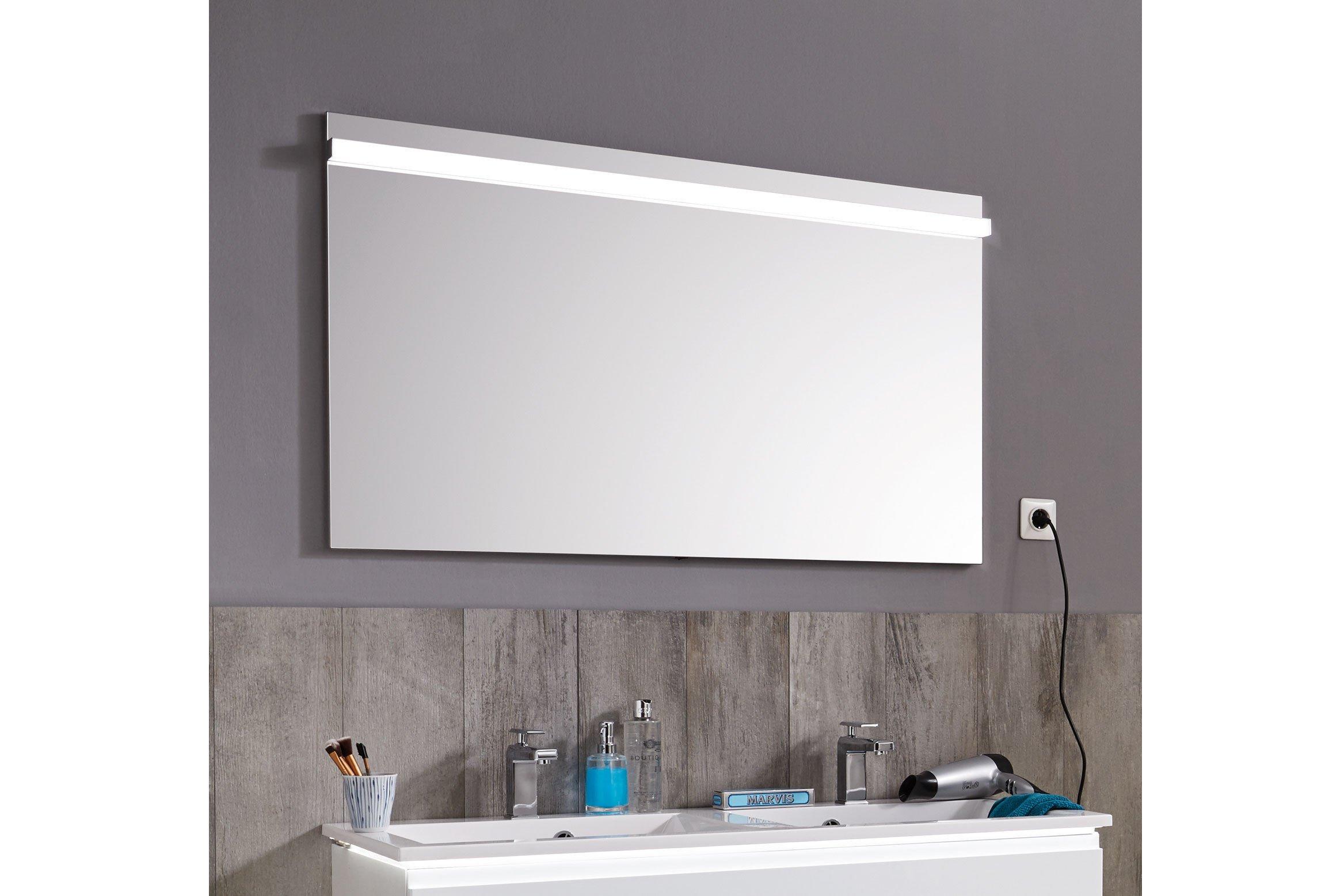 Ace von puris - Flächenspiegel mit LED-Beleuchtung